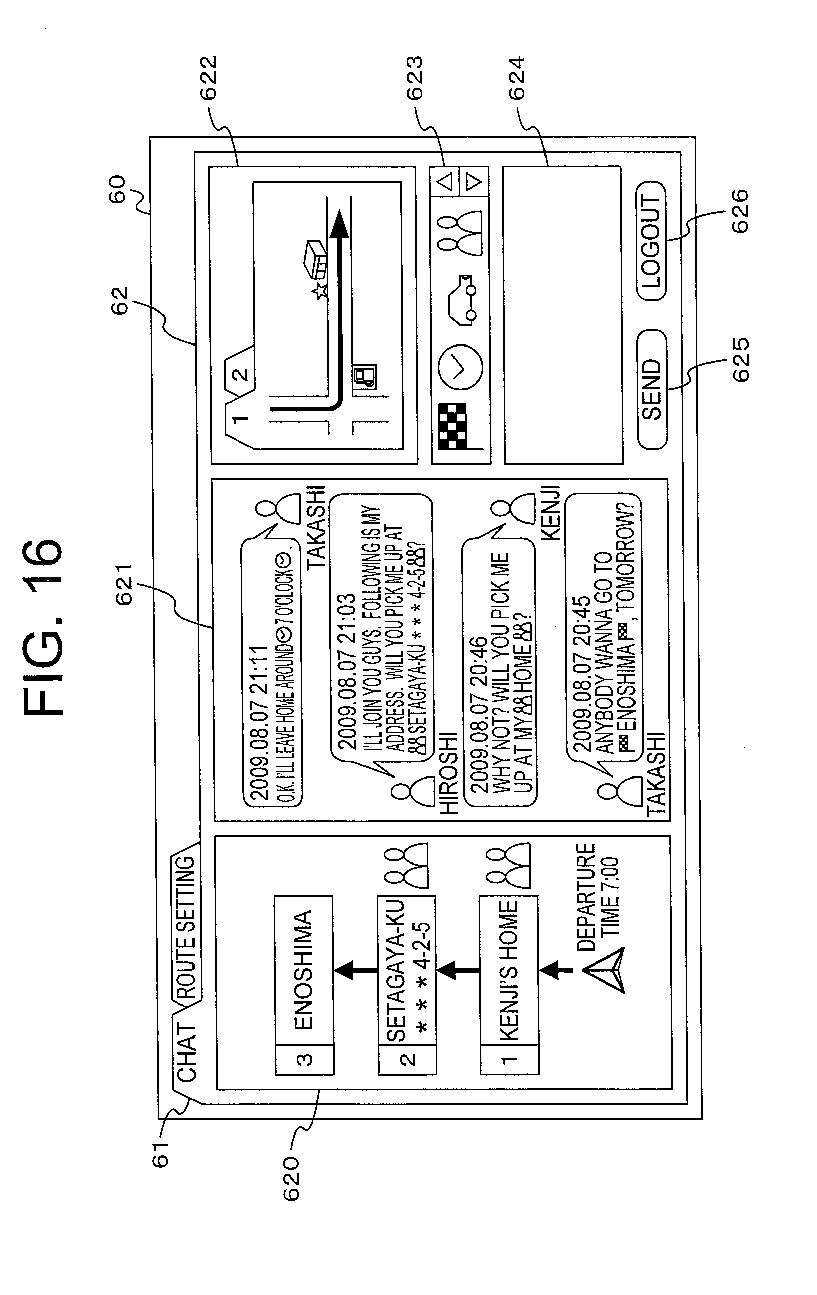 Patent Us20120191341 Web Bulletin Board System Travel Planning Circuit Gpsreceiver Communicationcircuit Diagram Drawing