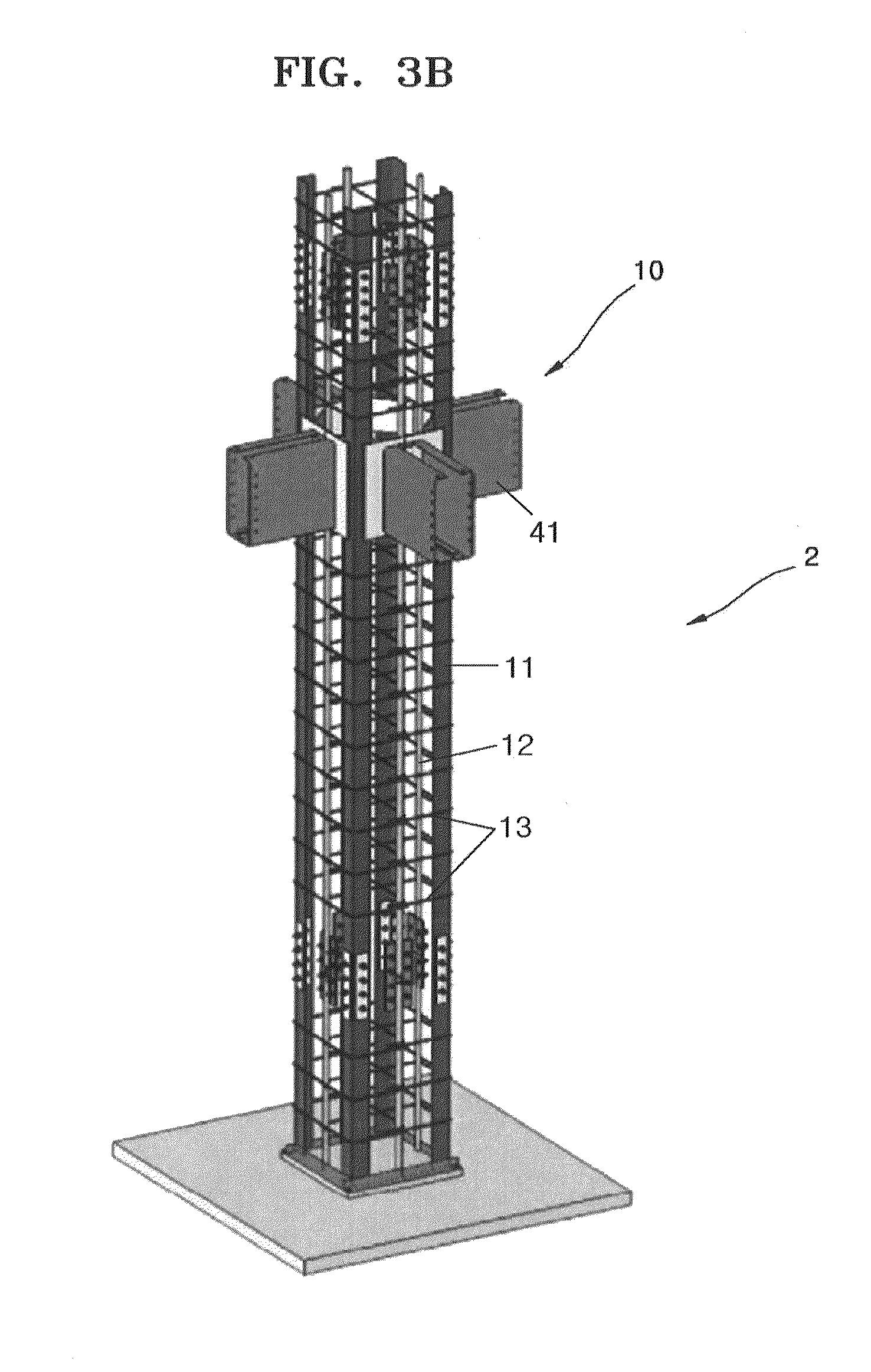 Patent us20120210669 method of constructing for Prefab columns