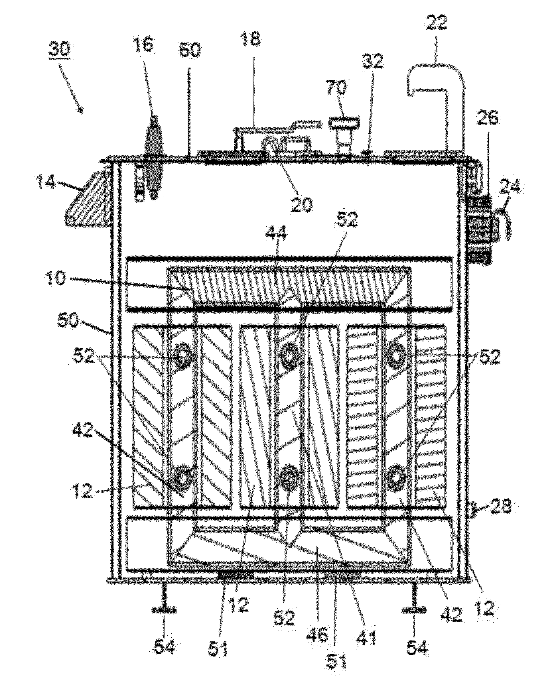 patent us20120212312 - dry-type network transformer