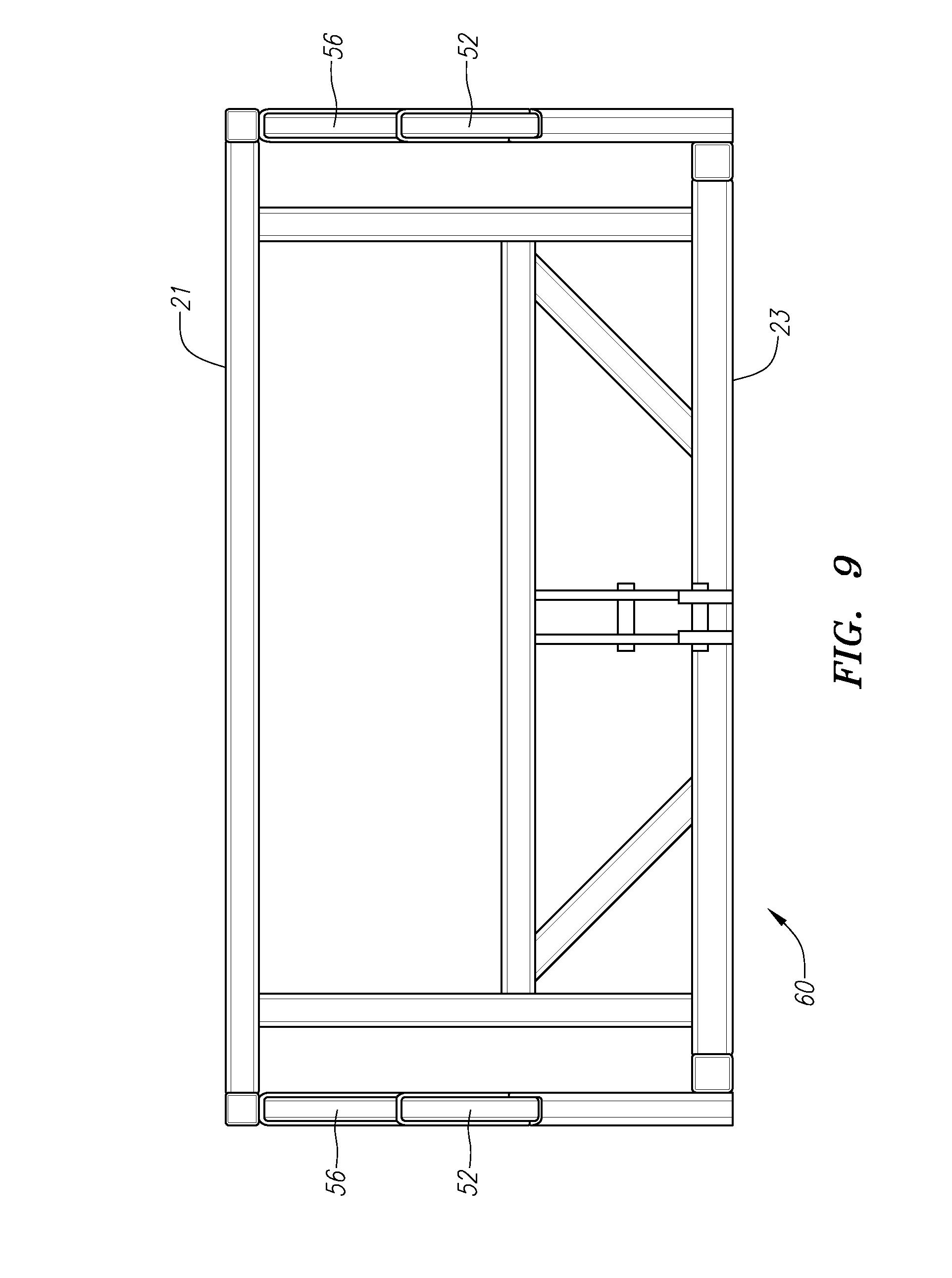 Patente US20120213622 - Level lift detachable trailer system ...