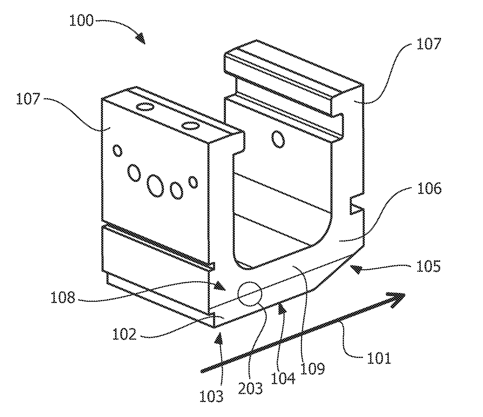 Patent US Explosion welded gas turbine shroud and a