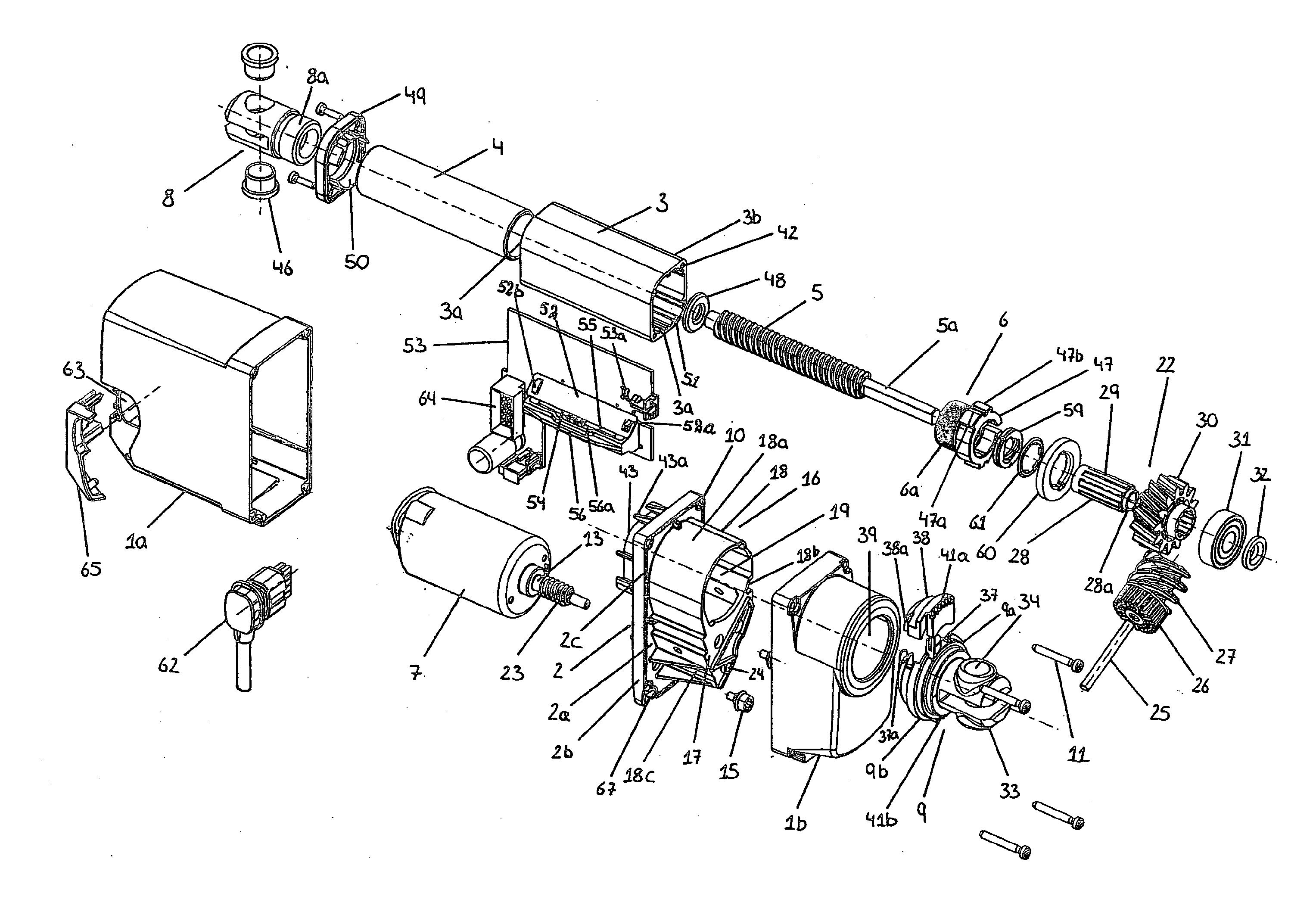 patent us20120222509 - linear actuator