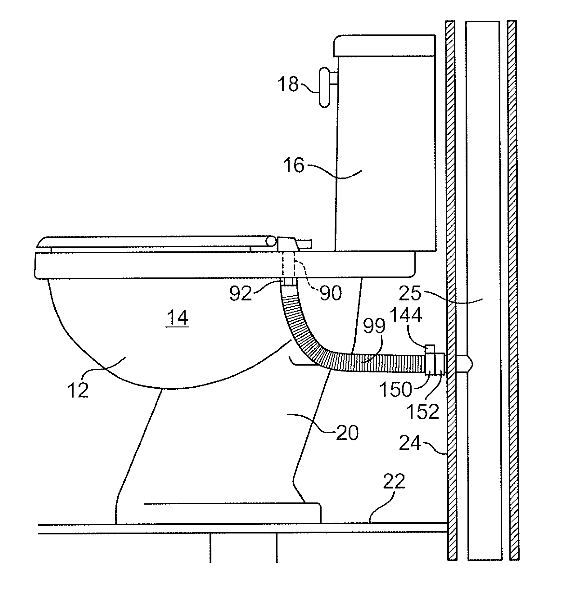 Patent US20120227167 - Toilet seat with passage system for removal ...