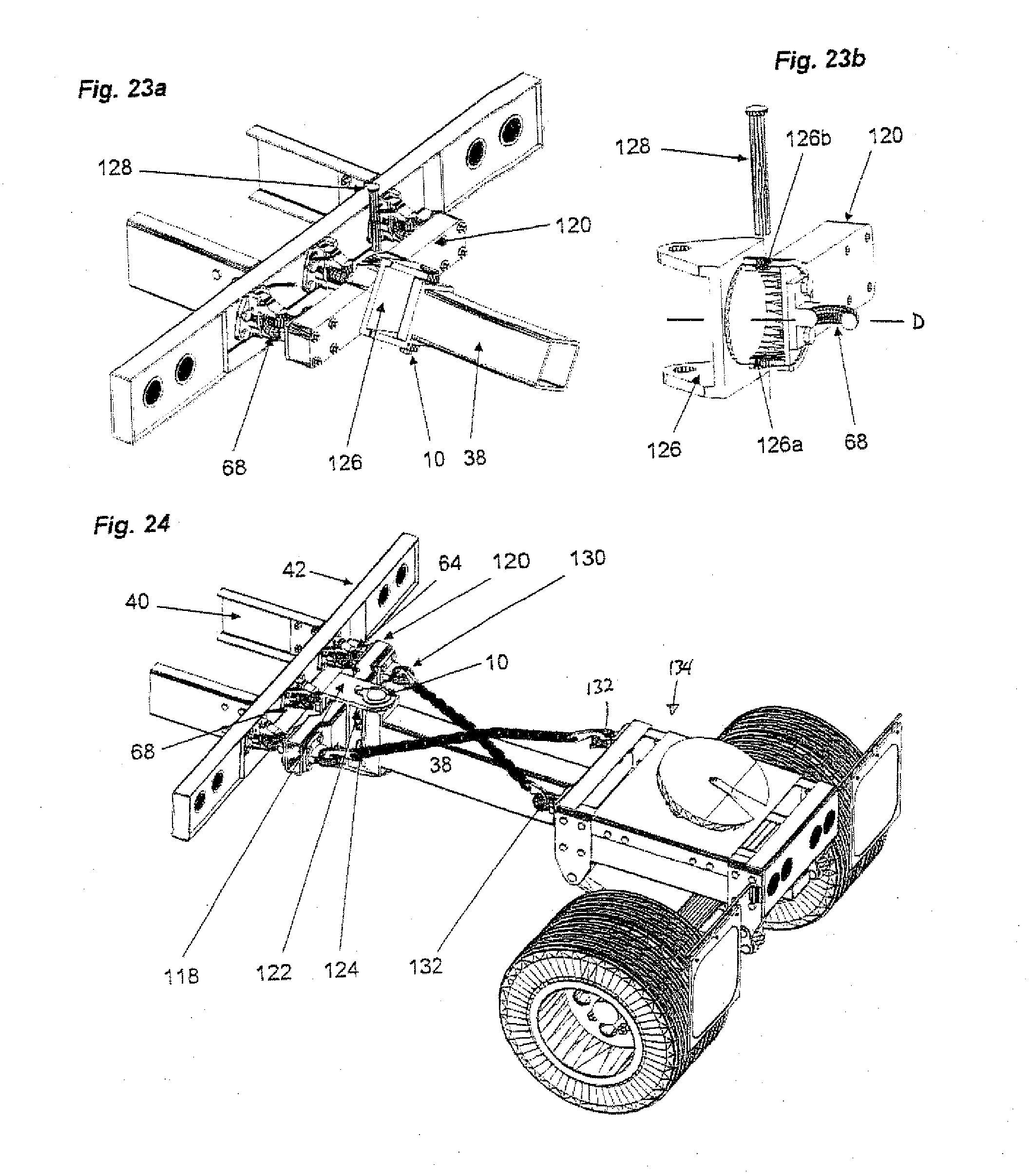 patent us20120235381 - roll coupling trailer hitch assembly