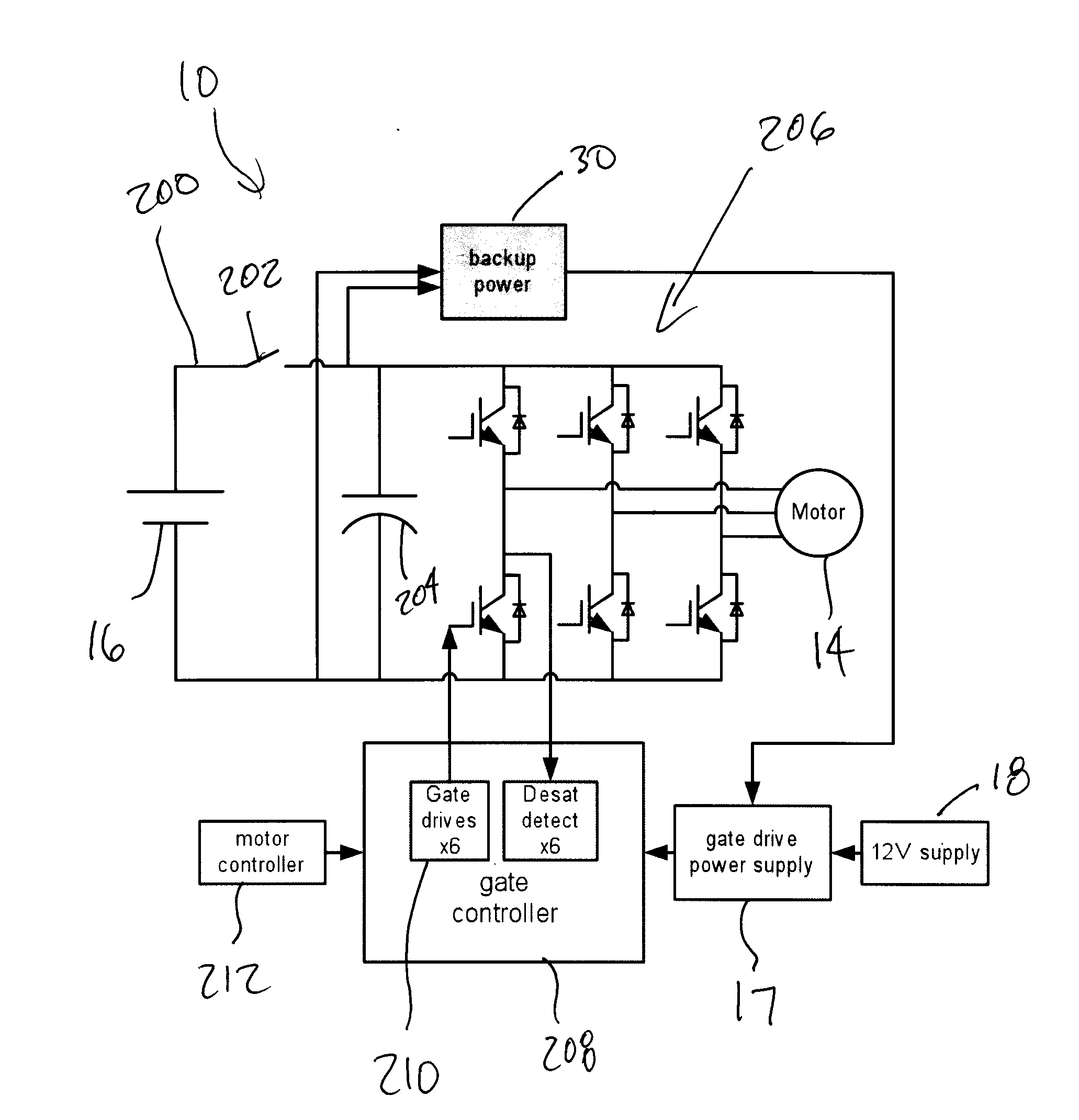 Brevet Us20120235613 Backup Power For Overvoltage Protection Circuit Diagram Of Synchronized Mains Voltage Control Patent Drawing