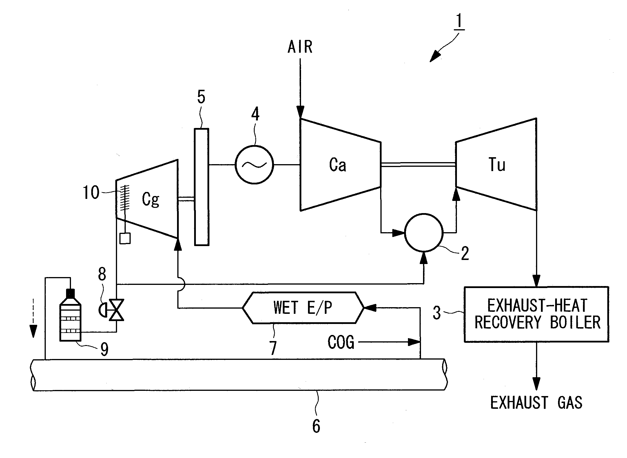gas compressor  gas compressor drawing