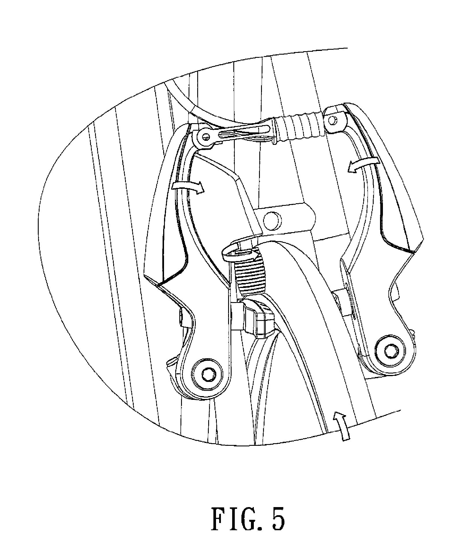 patent us20120249316 - bicycle brake light system