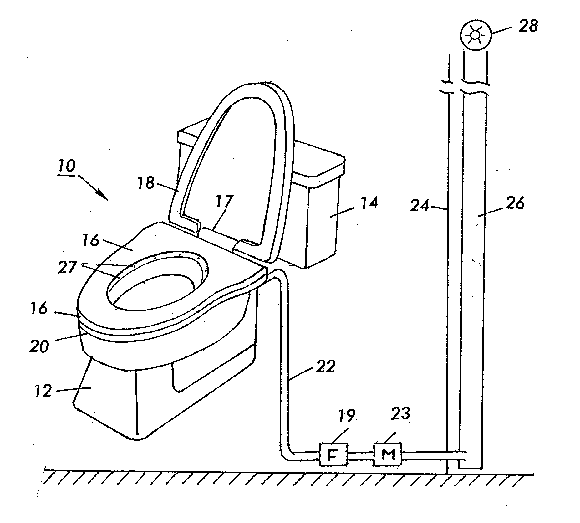 Patent US20120255110 Ventilation system for toilet bowl    #3A3A3A