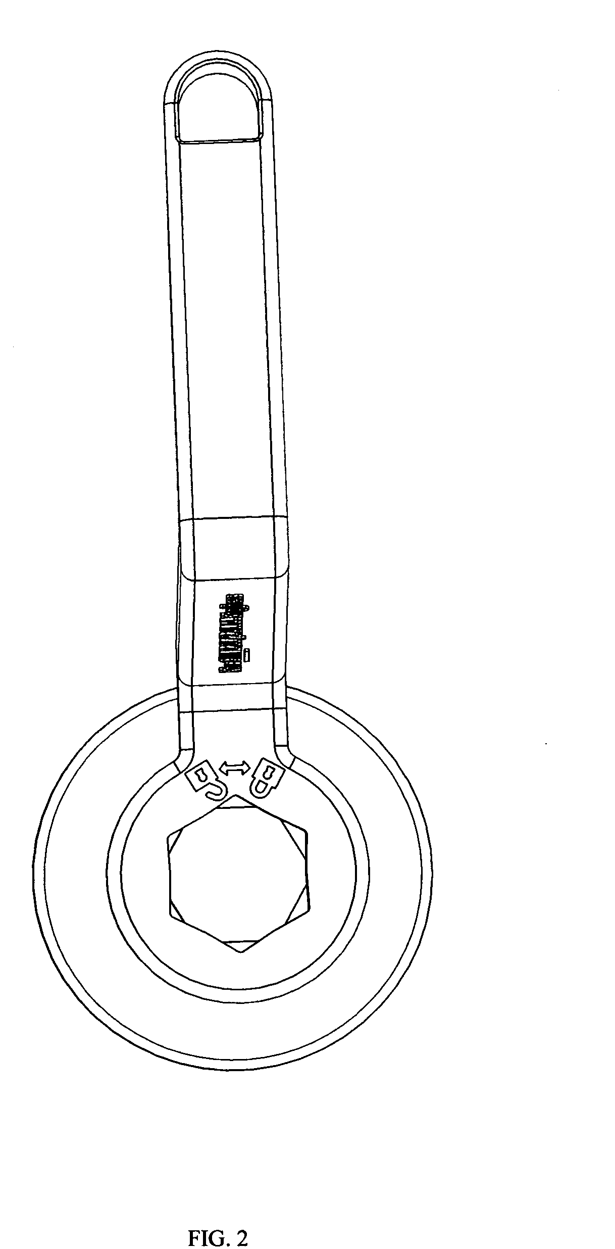 patent us20120255399 - angular oil filter cartridge wrench