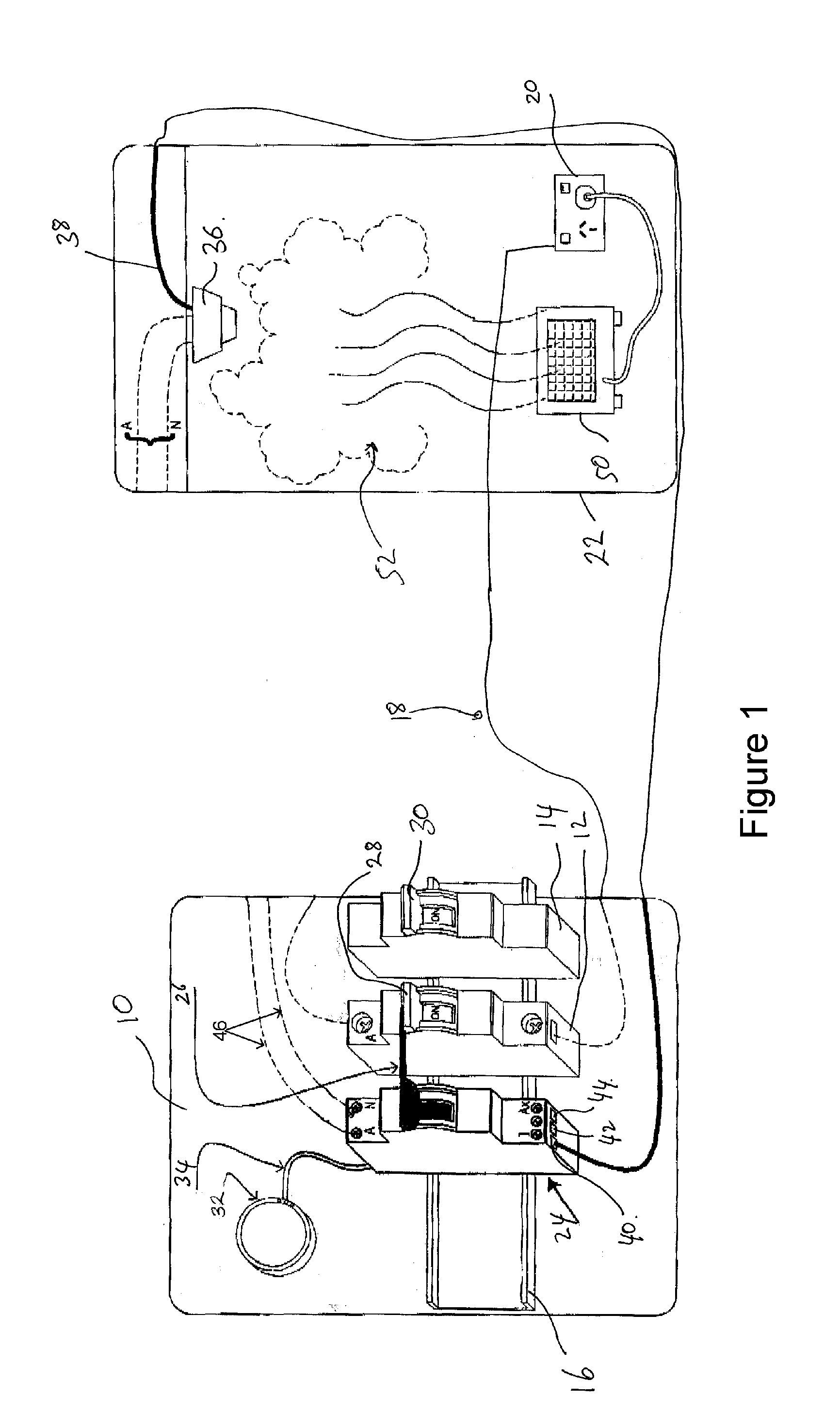 patent us20120257330 - electrical switch board smoke detector unit