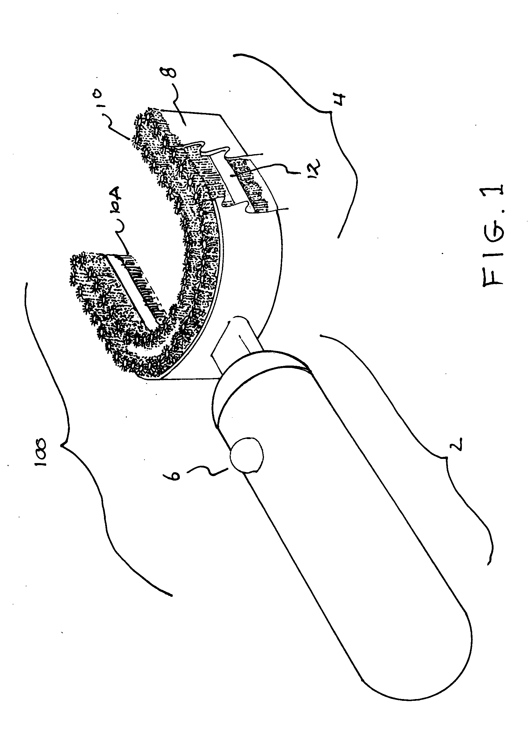 patent us20120260442 - whole mouth toothbrush