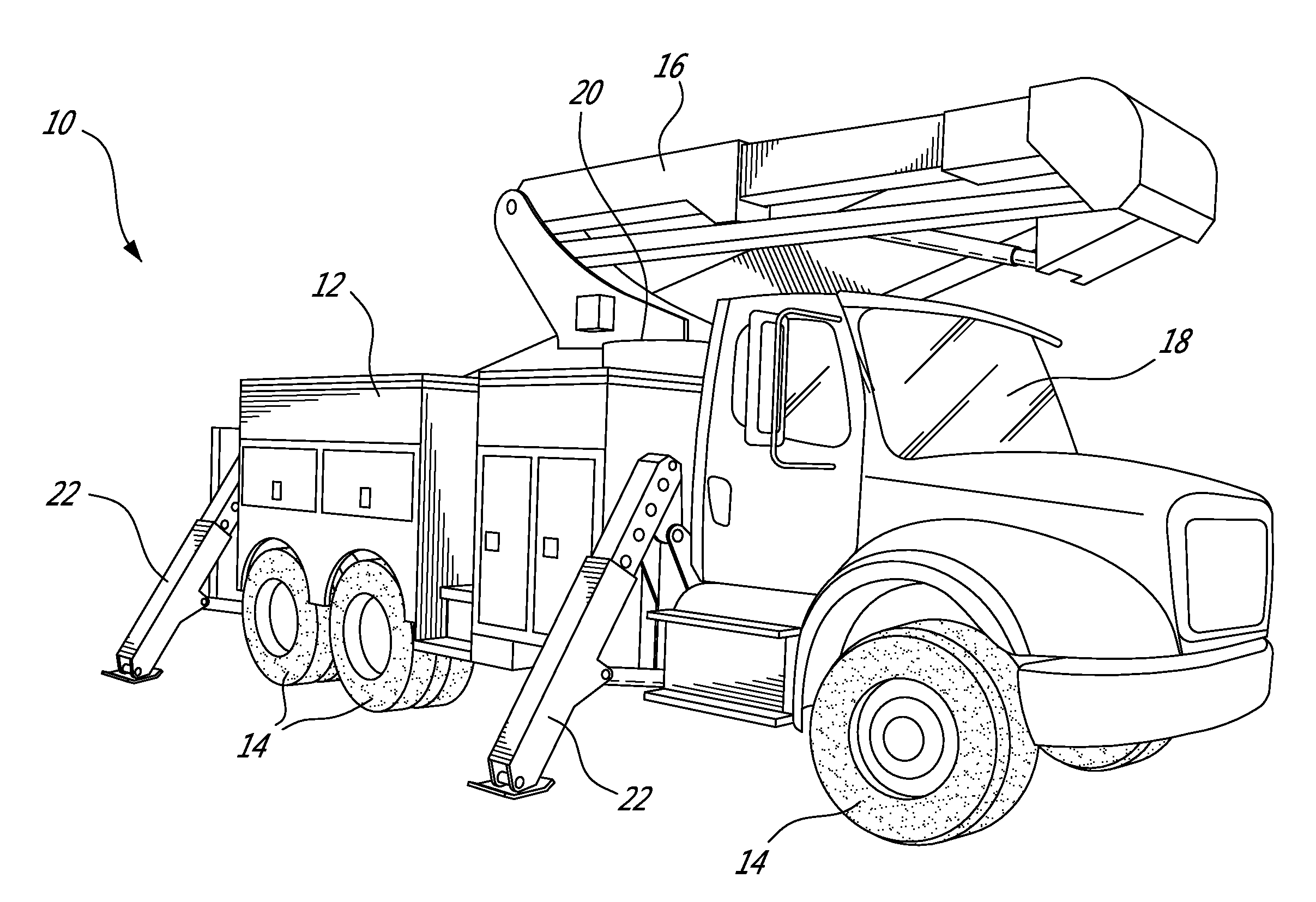 lineman boom truck coloring pages sketch coloring page