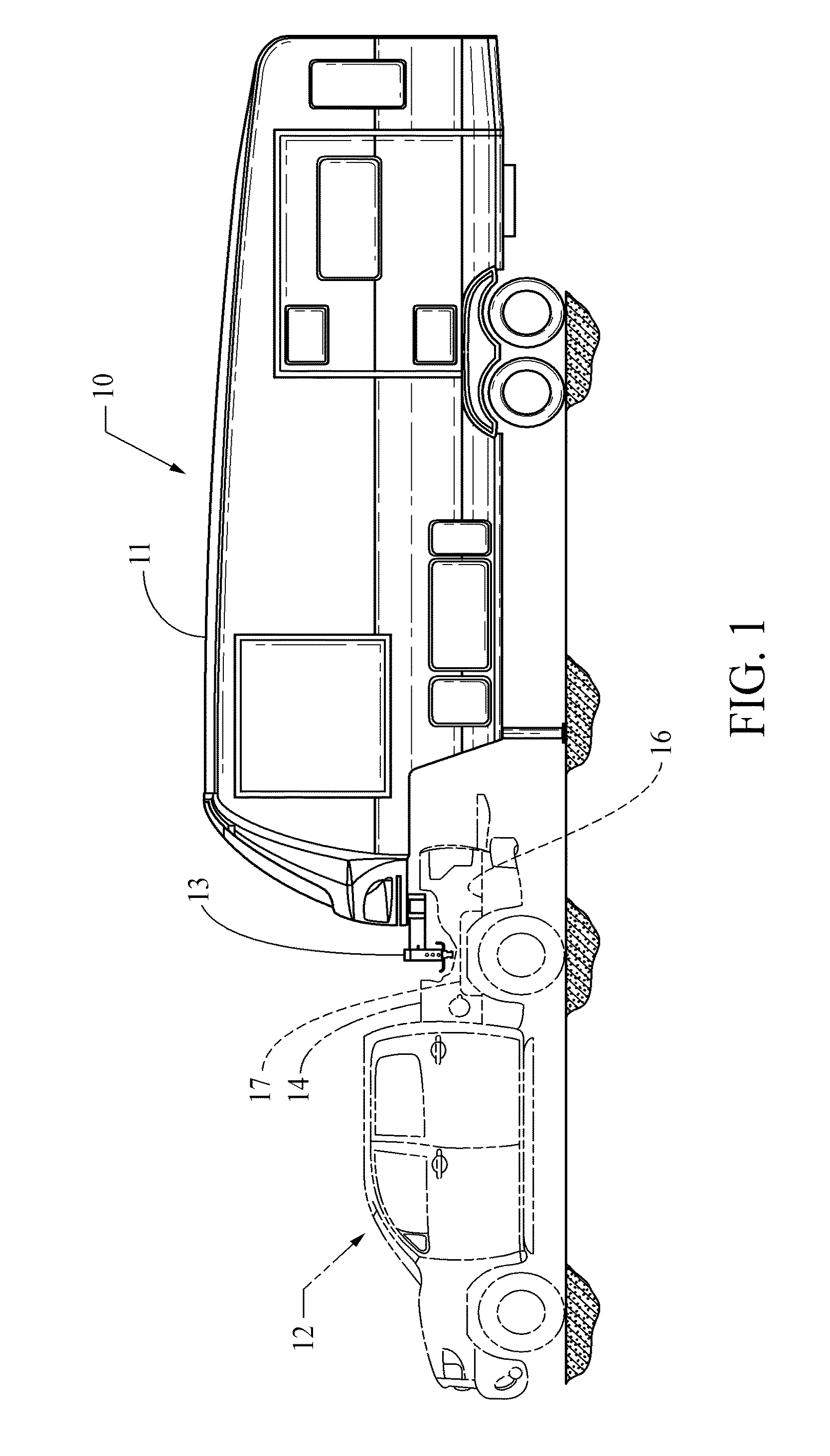 patent us20120261902 - fifth wheel travel trailer