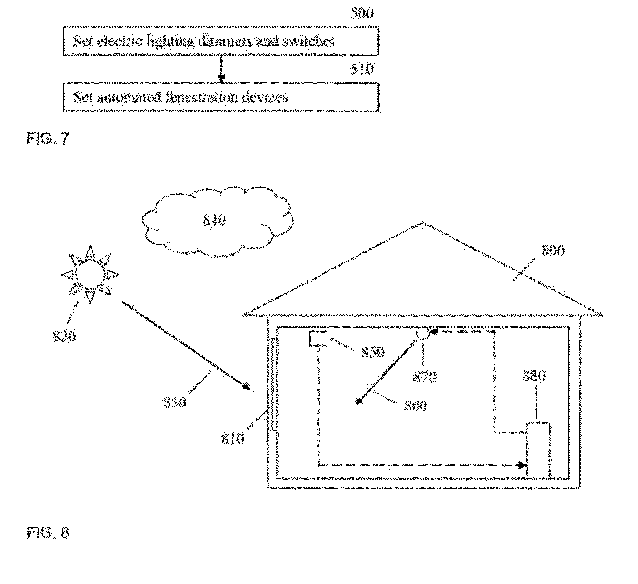 Daylight Harvesting System : Patent us  predictive daylight harvesting