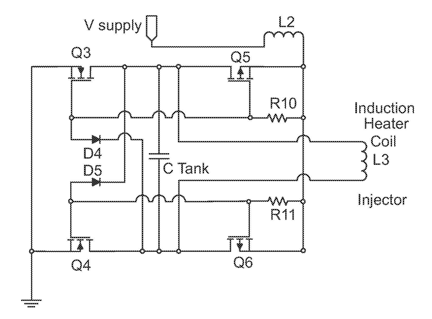 US20120268222 on high frequency induction heating schematic