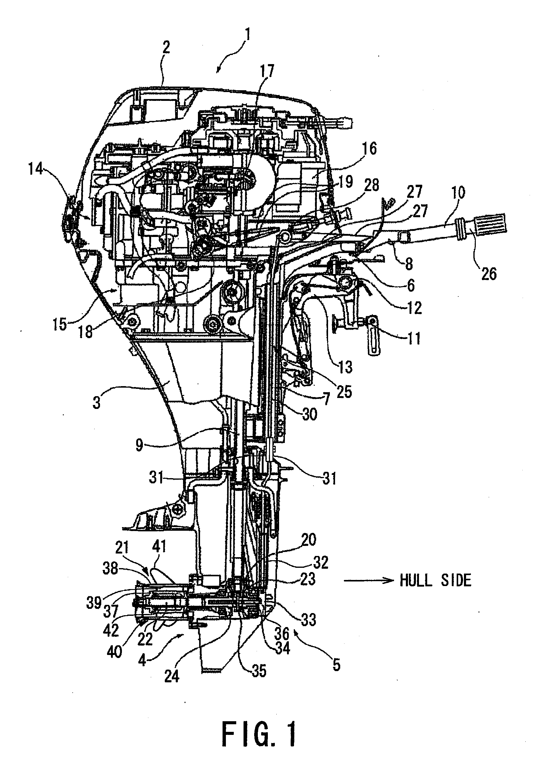 Patent us20120269639 propeller for outboard motor for Best outboard motor warranty
