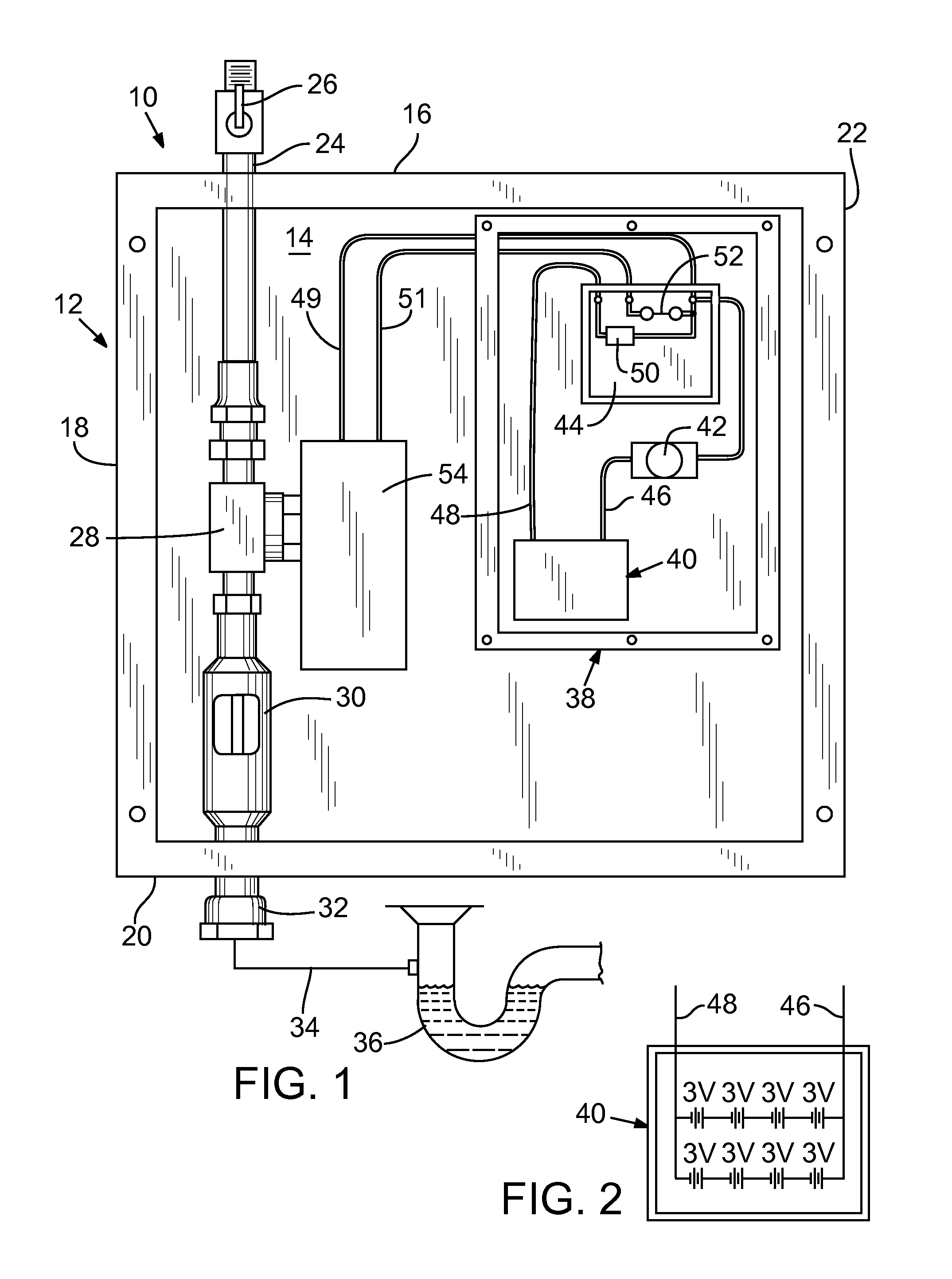 US20120280156A1 20121108 D00001 patent us20120280156 trap primer valve assembly with battery asco wiring diagram at mifinder.co