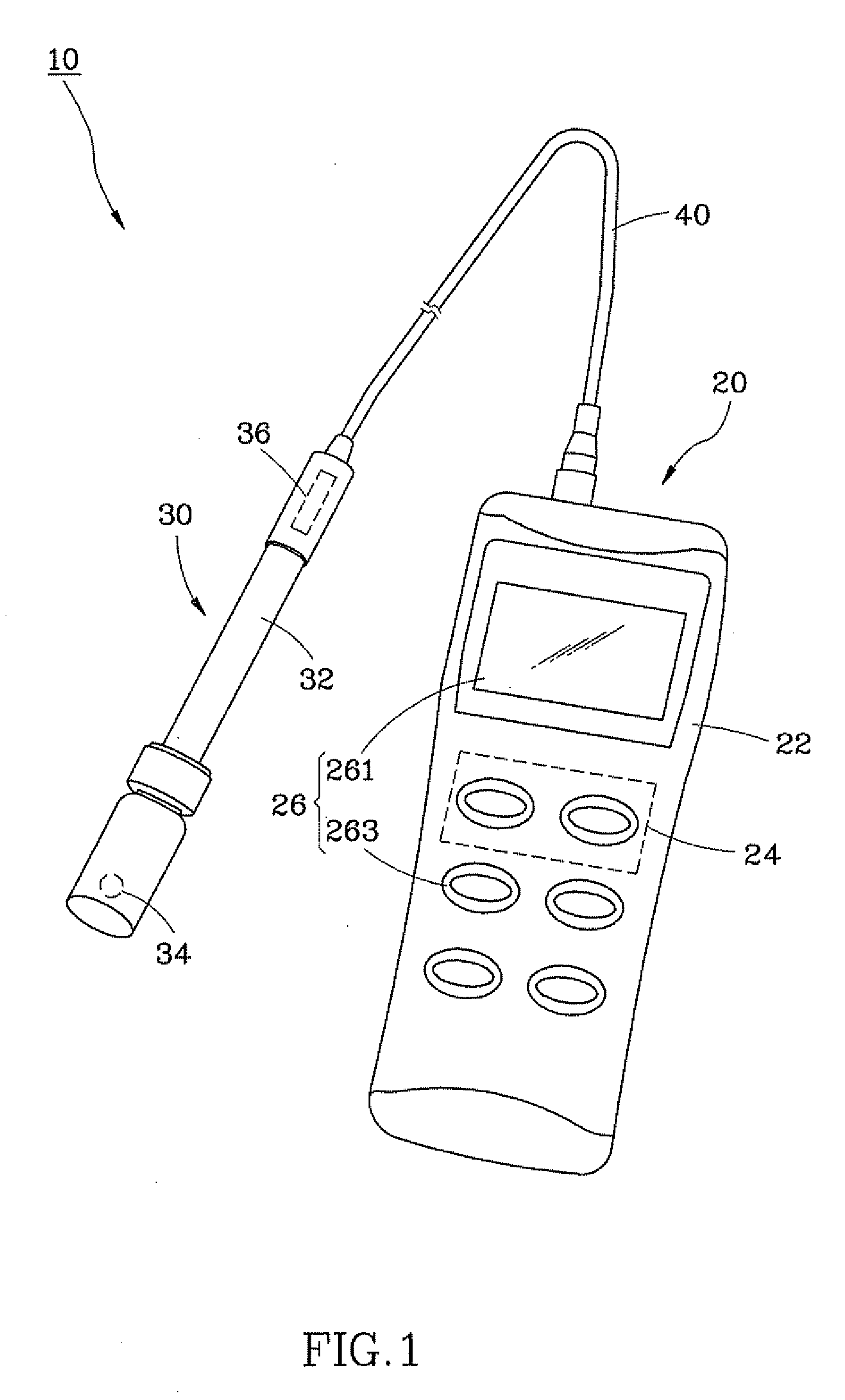 patent us20120286761 - waterproof ph meter