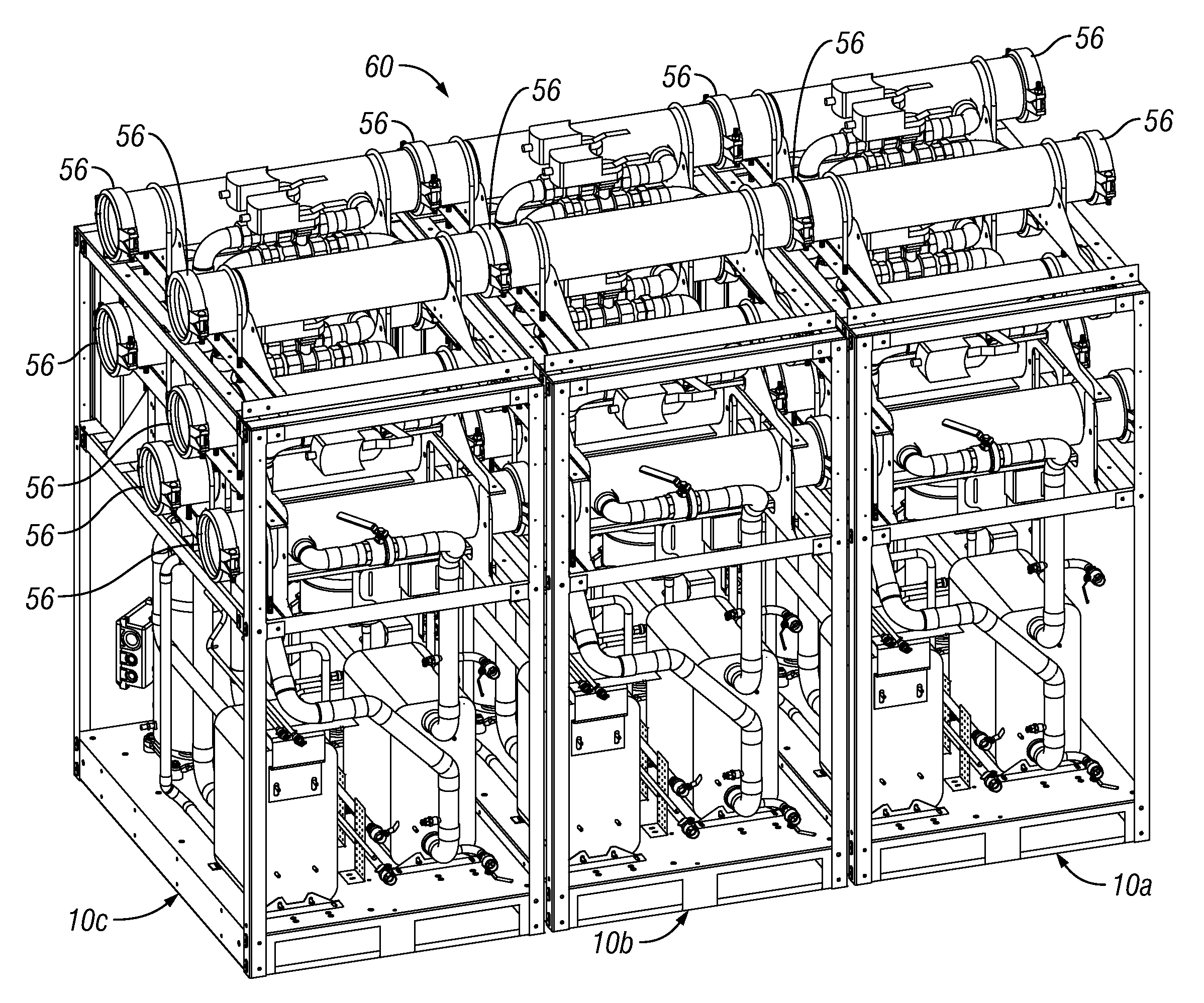 patent us20120297811 modular chiller unit with dedicated cooling Heatcraft Condensing Unit Wiring Diagrams patent drawing