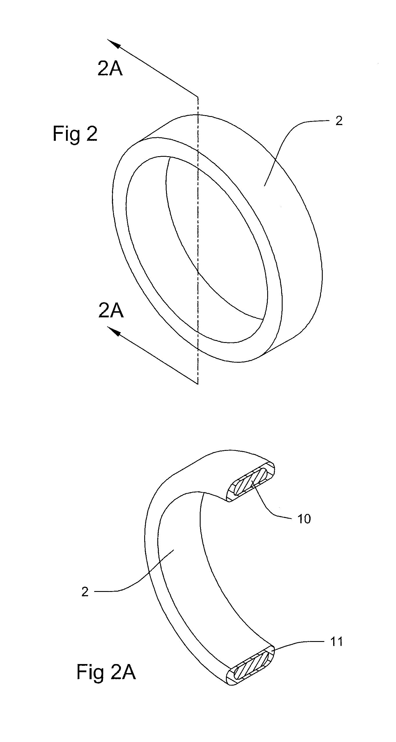 Iridium Wedding Band 98 Cool Patent Drawing