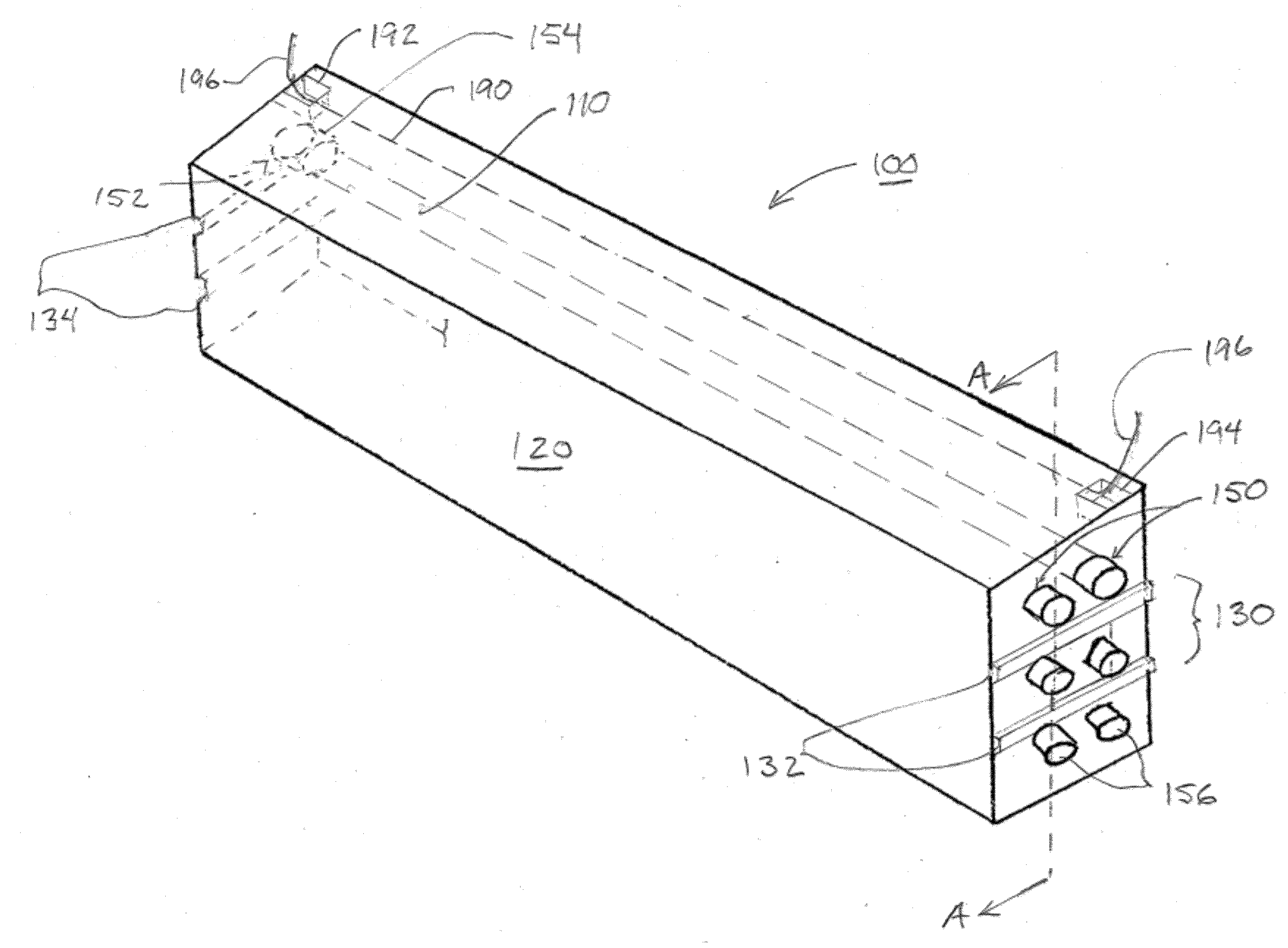 patent us20120298244 - preformed duct system