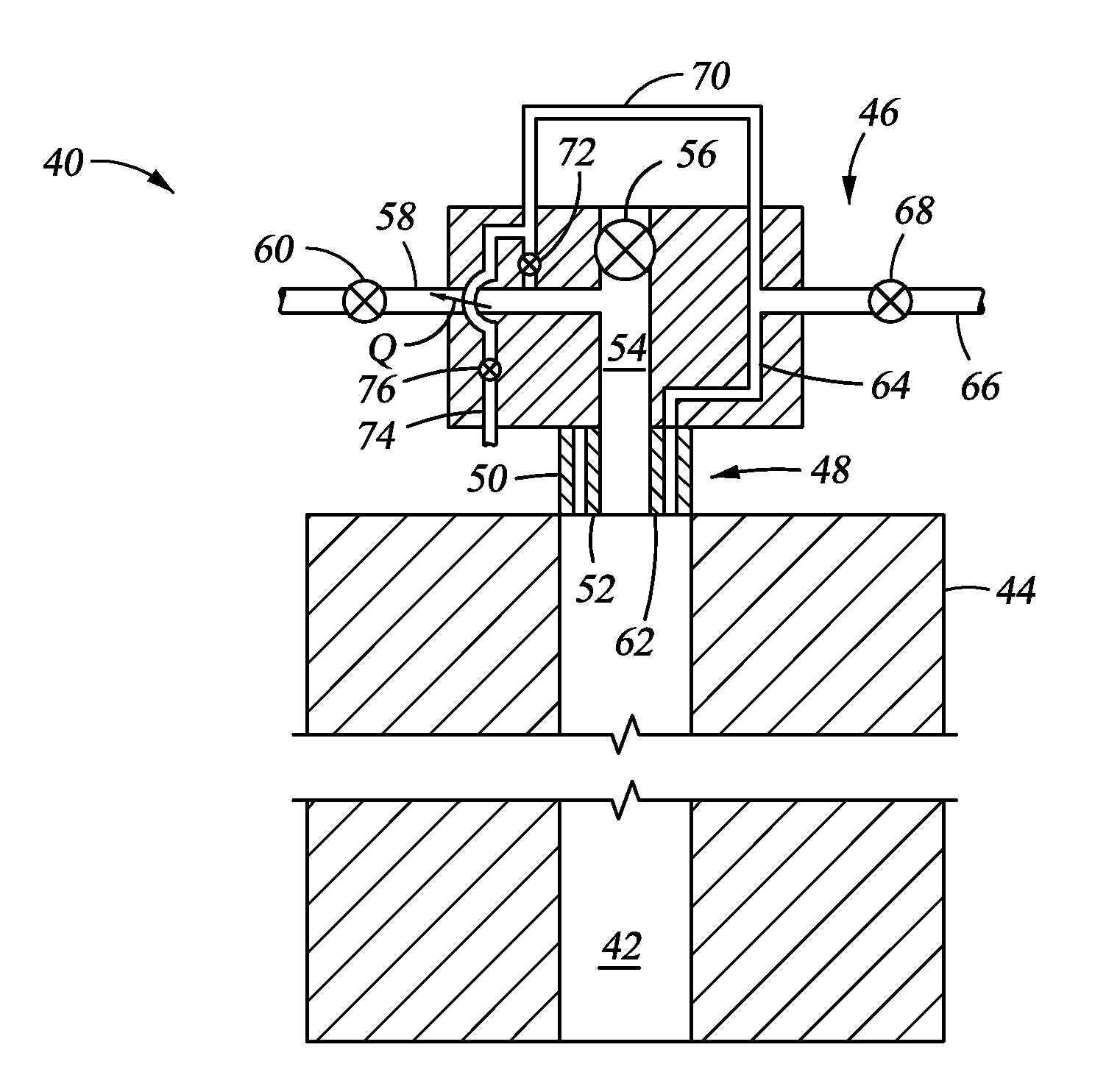 Vent System Patent Us20120305259 Annulus Vent System For Subsea Wellhead