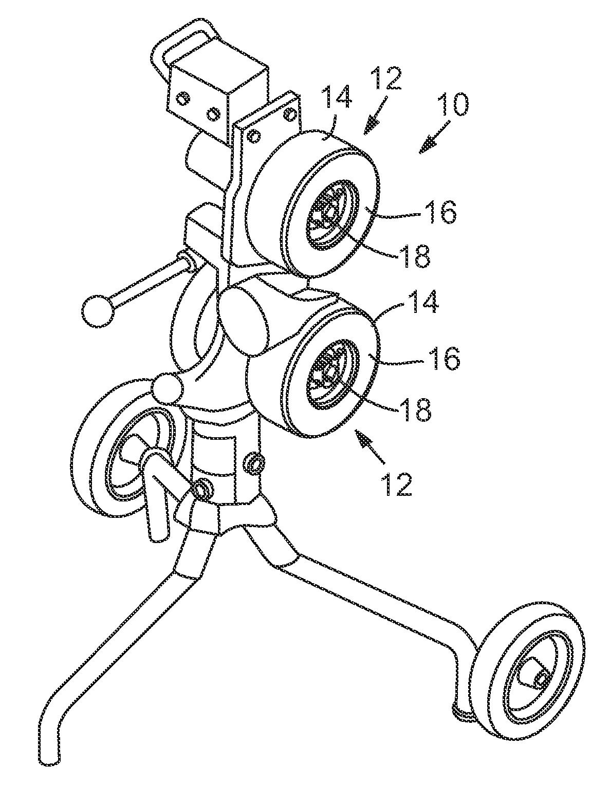 pneumatic pitching machine