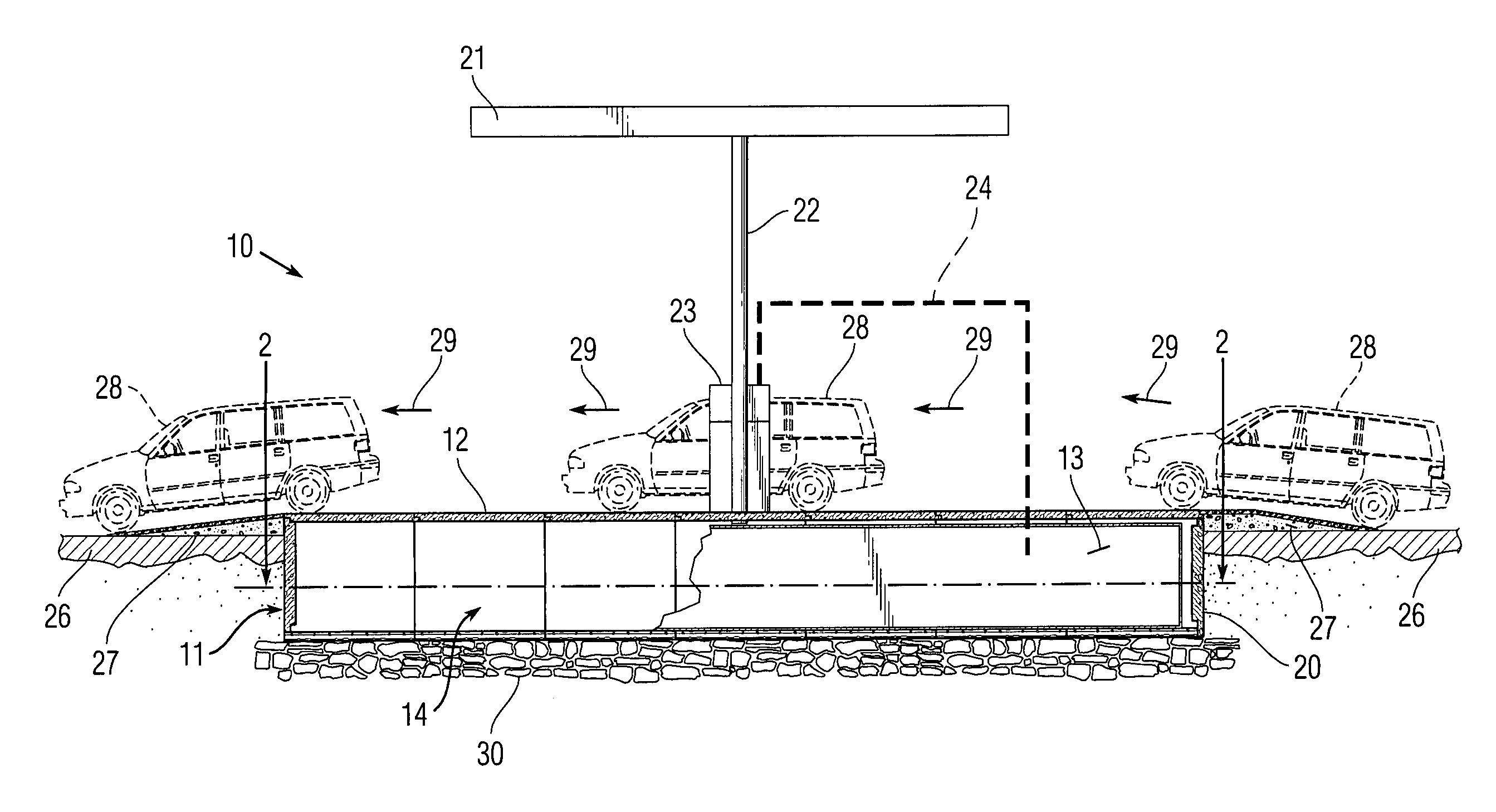 Simple Slab Culvert Design Drawings : Patent US20120312386 - Modular pre-fabricated island for vehicular ...