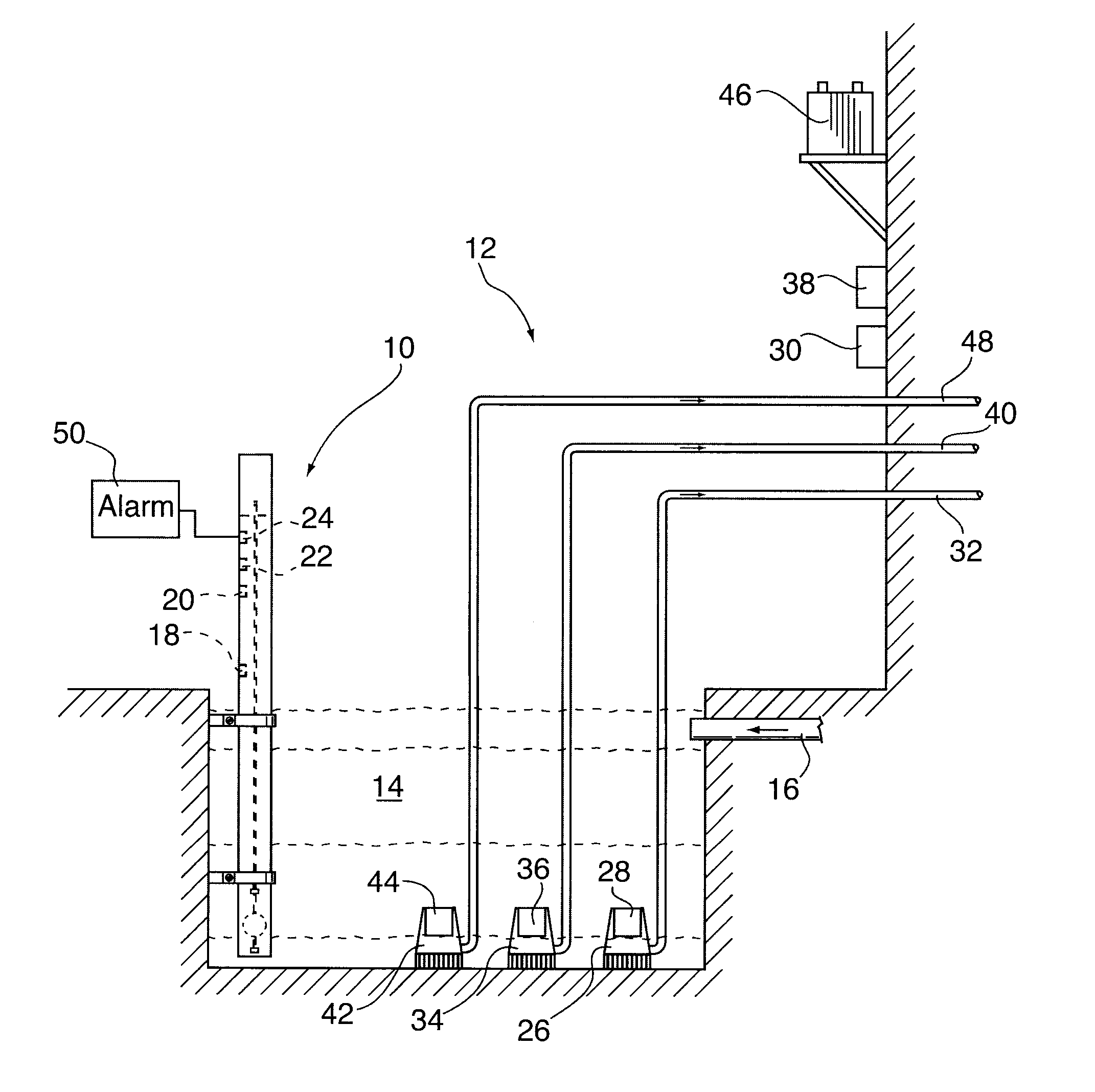 Patent Us20120312397 - Multiple Switch Float Switch Apparatus