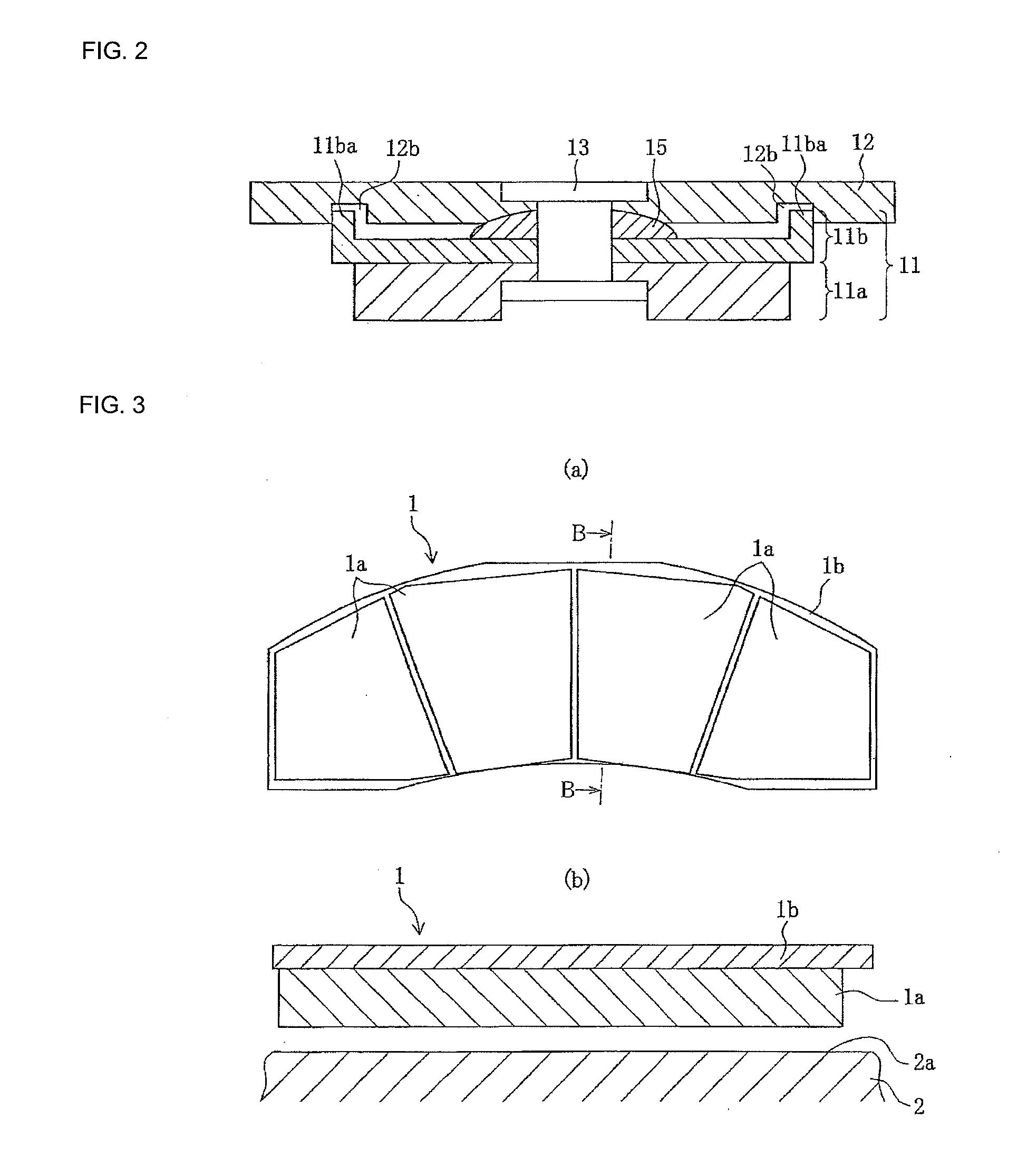 Brake Lining Draw : Patent us  brake lining for railroad car