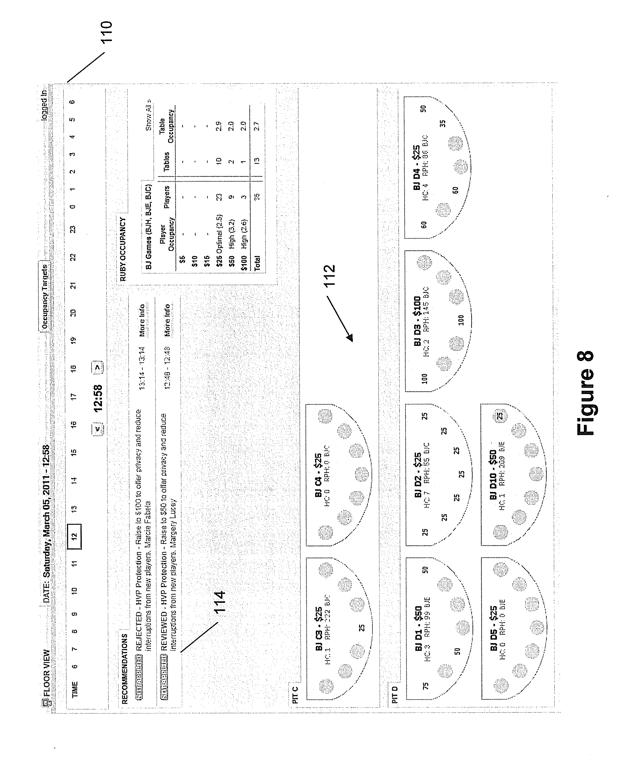 Patent US20120329537 - System and Method for Processing Casino