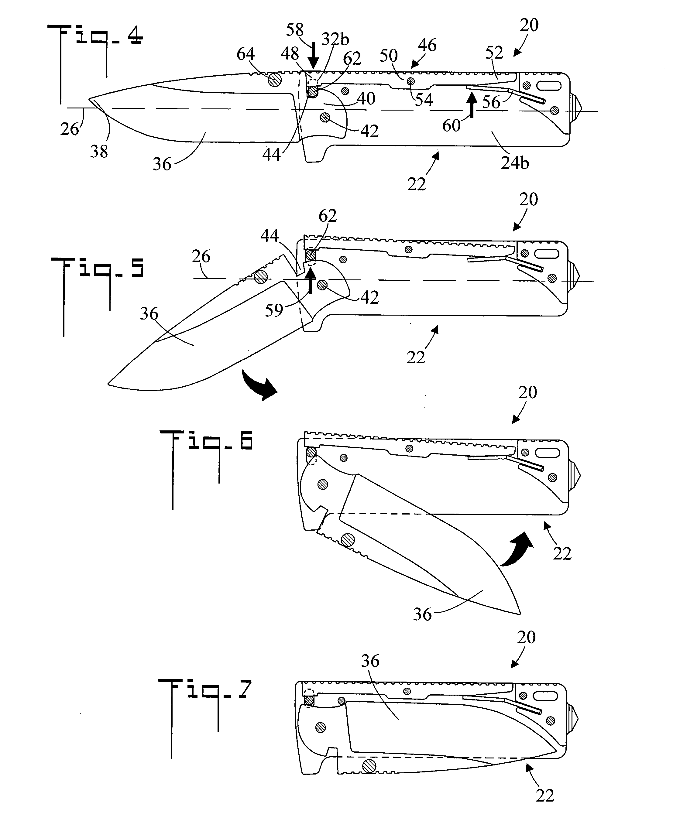 Patent Us20130000129 Locking Mechanism For A Folding