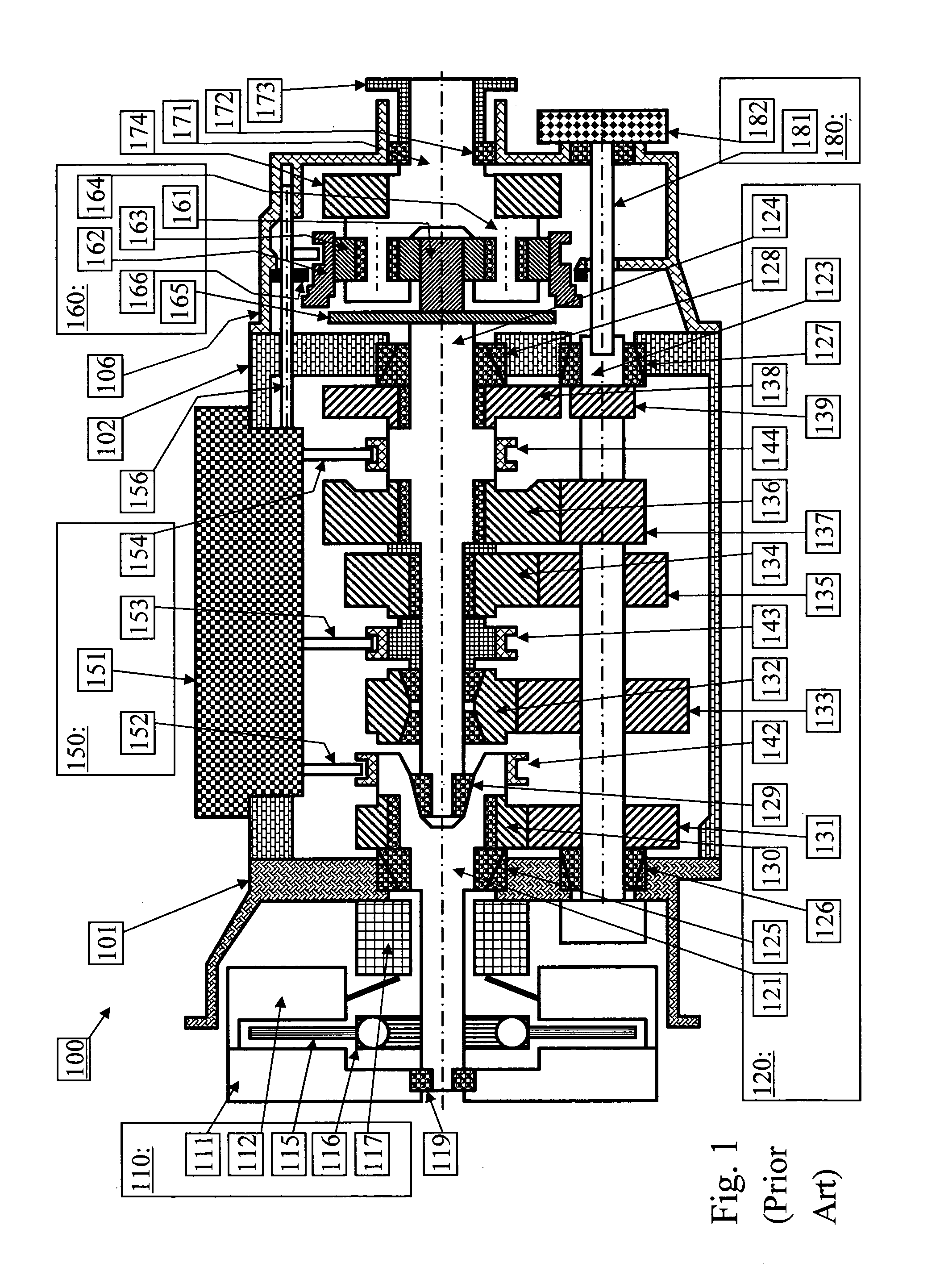 Patent Us20130005525 Powershift Transmission In A Motor