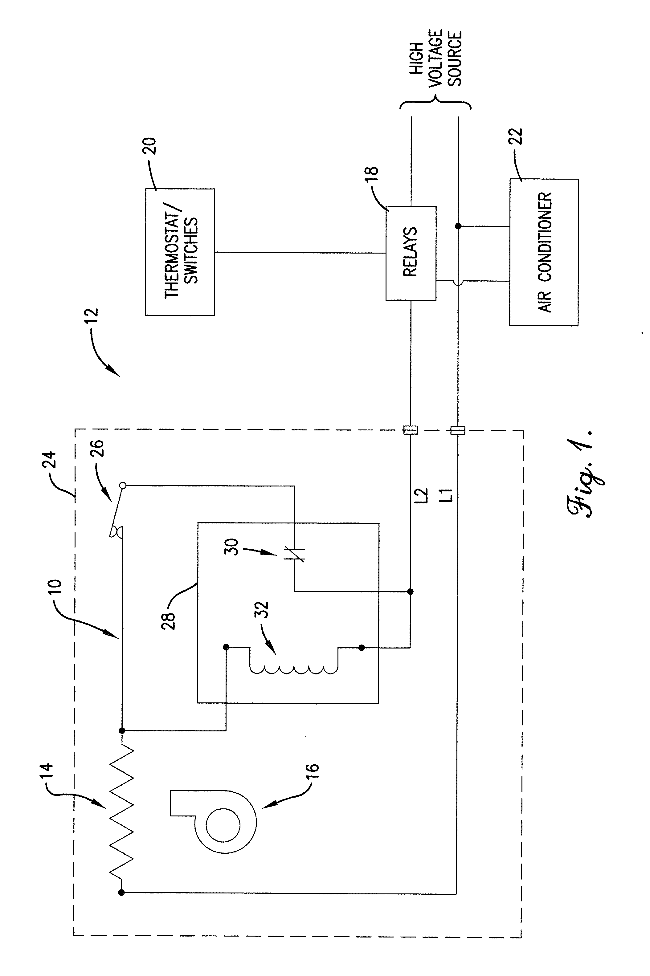 patent us20130015173 lockout circuit manual reset for patent drawing