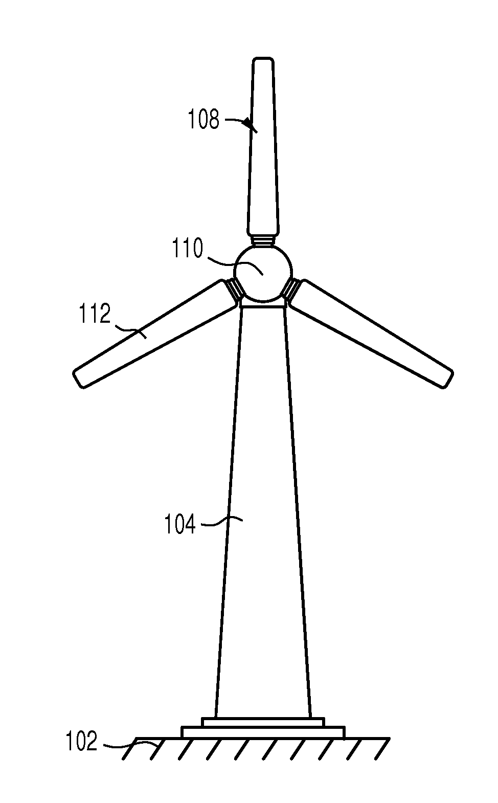 patent us20130017096 - reducing radar interference from wind turbines