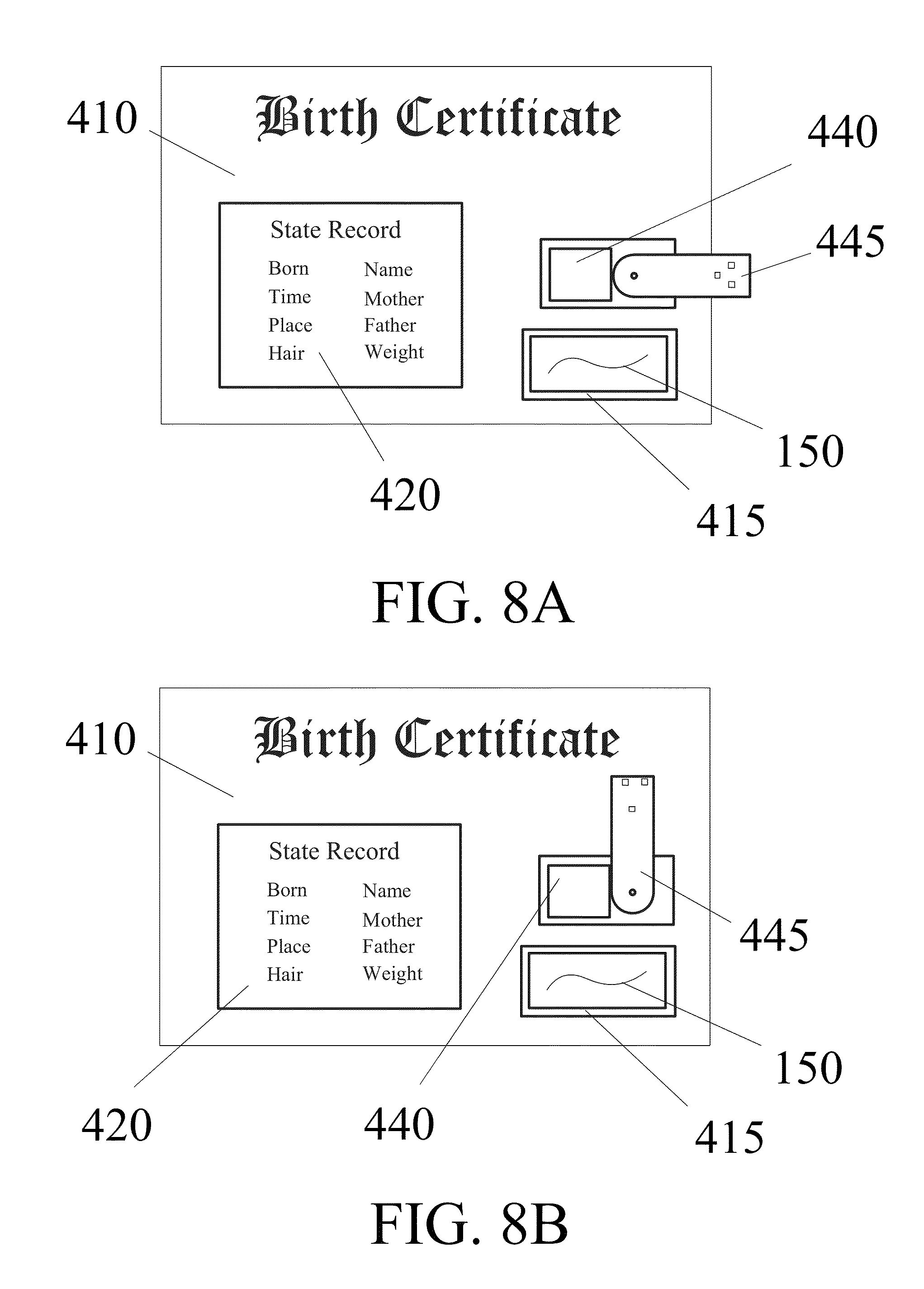 Patent us20130020793 biometric birth certificate google patents patent drawing xflitez Images