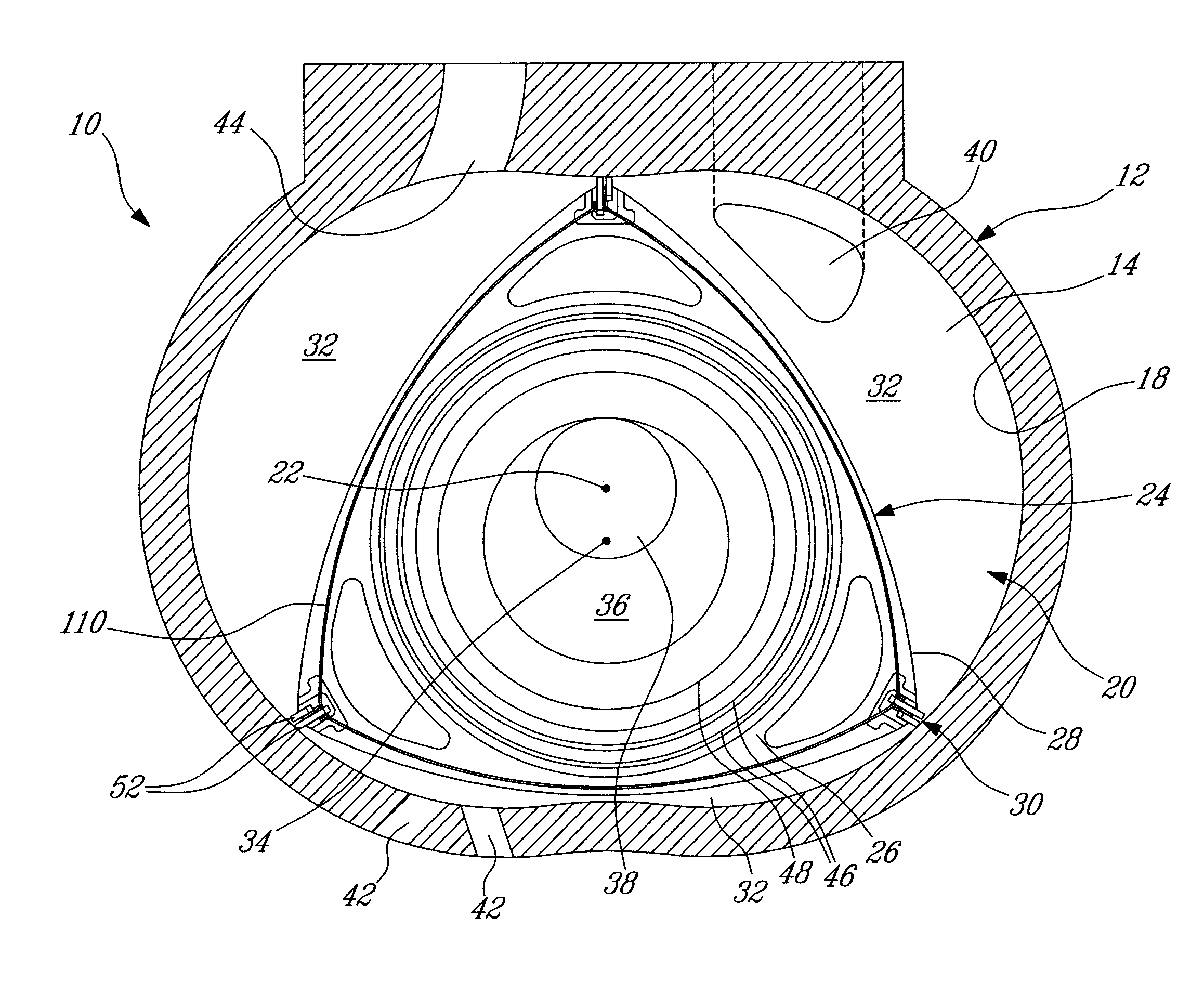 patent us20130028775 apex seal arrangement for rotary combustion engine patents