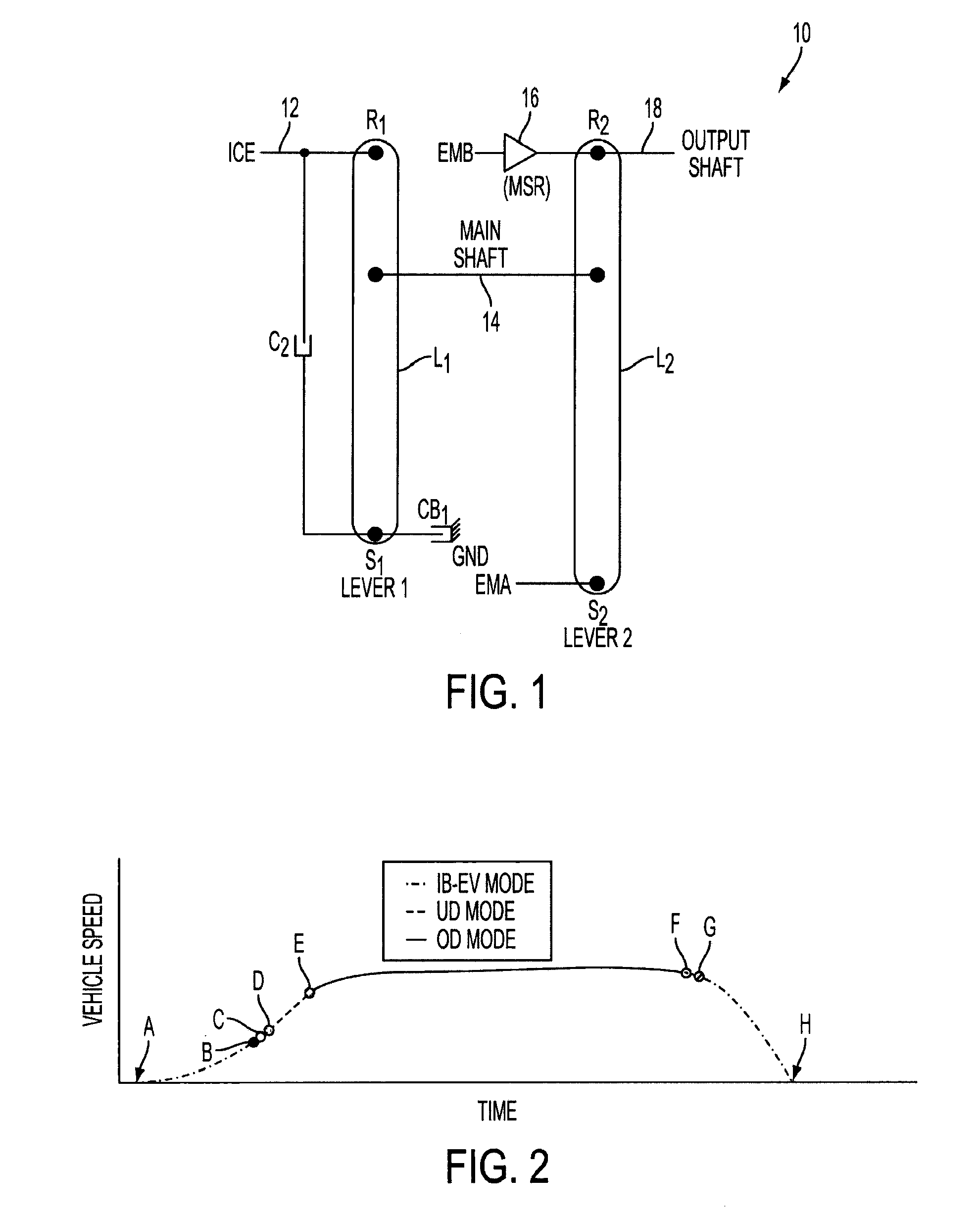 Patent US Mode selection control system for an