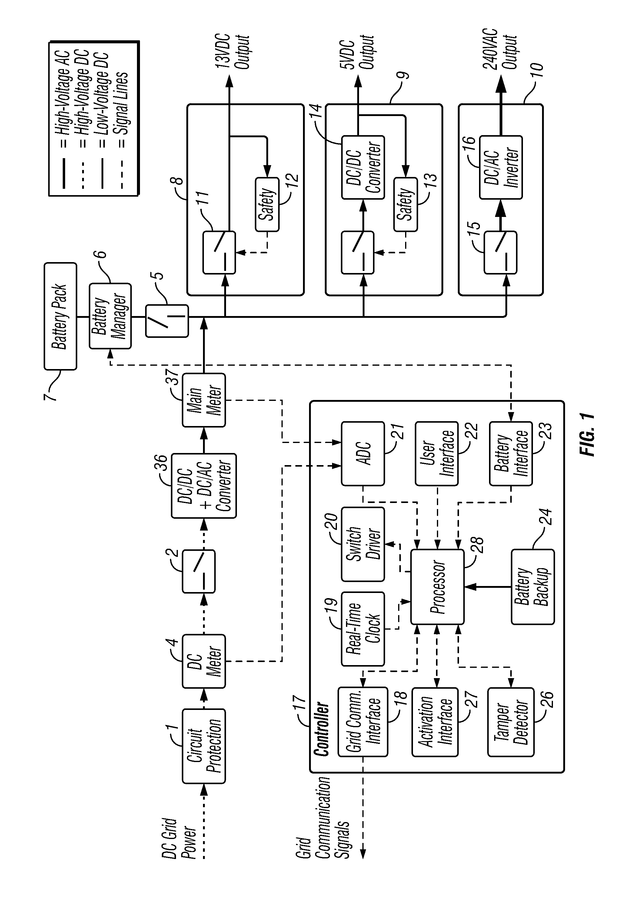 Patent Us20130035802 Power Management Device And System Google Battery Switch Wiring Diagram Besides Rs 422 Additionally Old Drawing