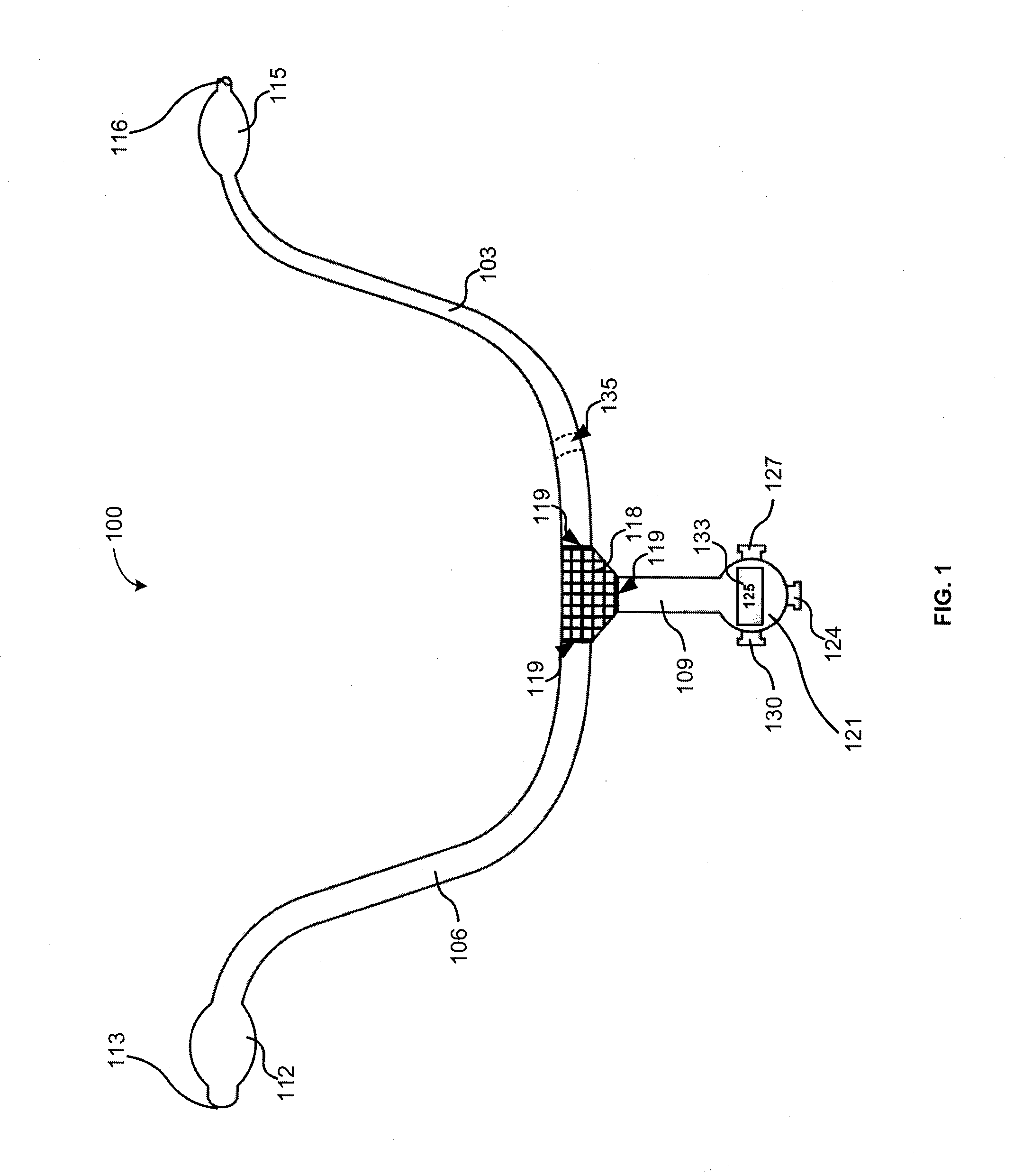patent us arterial shunt patents patent drawing