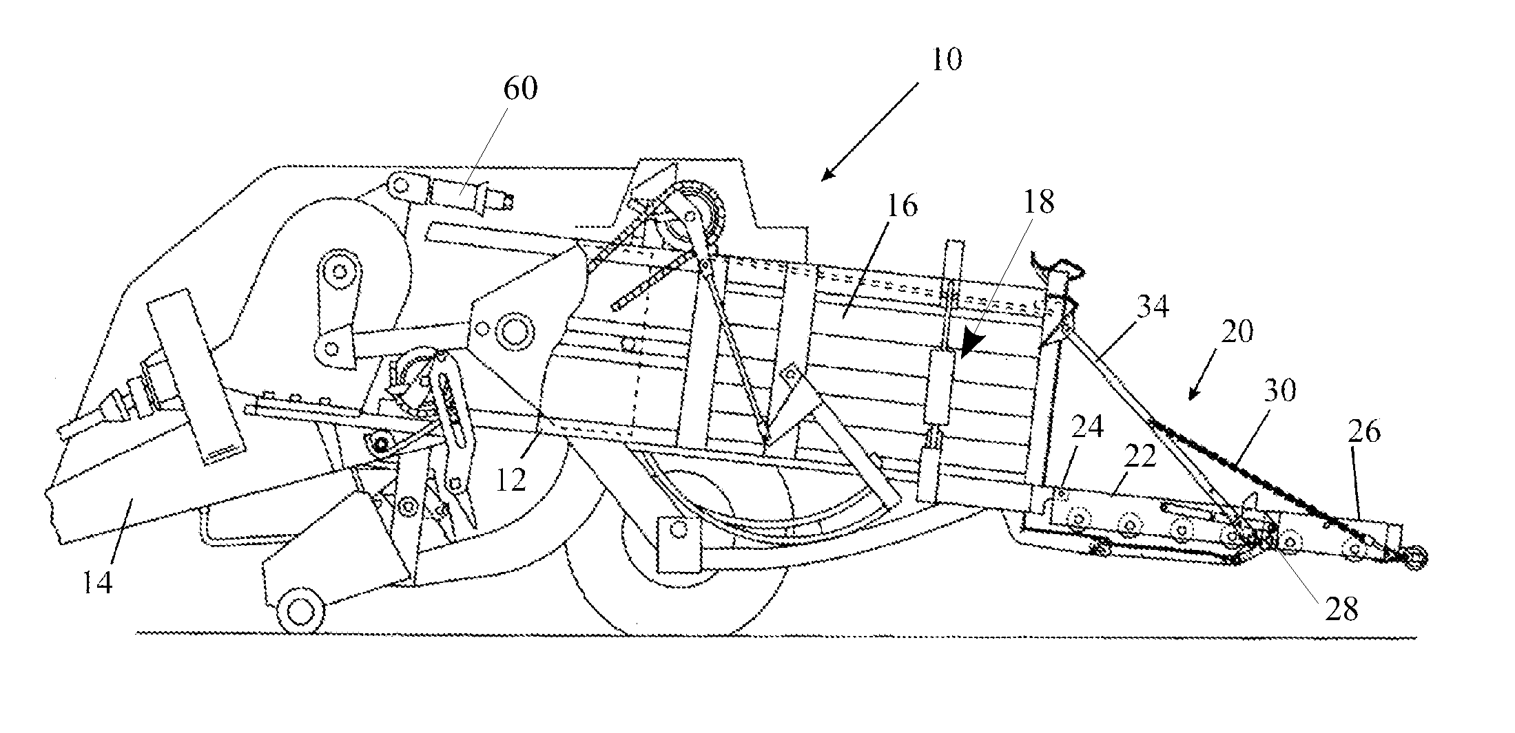Patente Us20130042770 - Square Baler And A Related Control Method