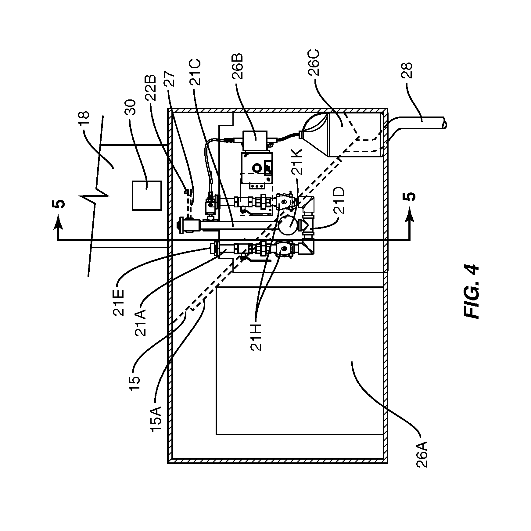 patent us20130048319 - kitchen hood assembly with fire suppression control system