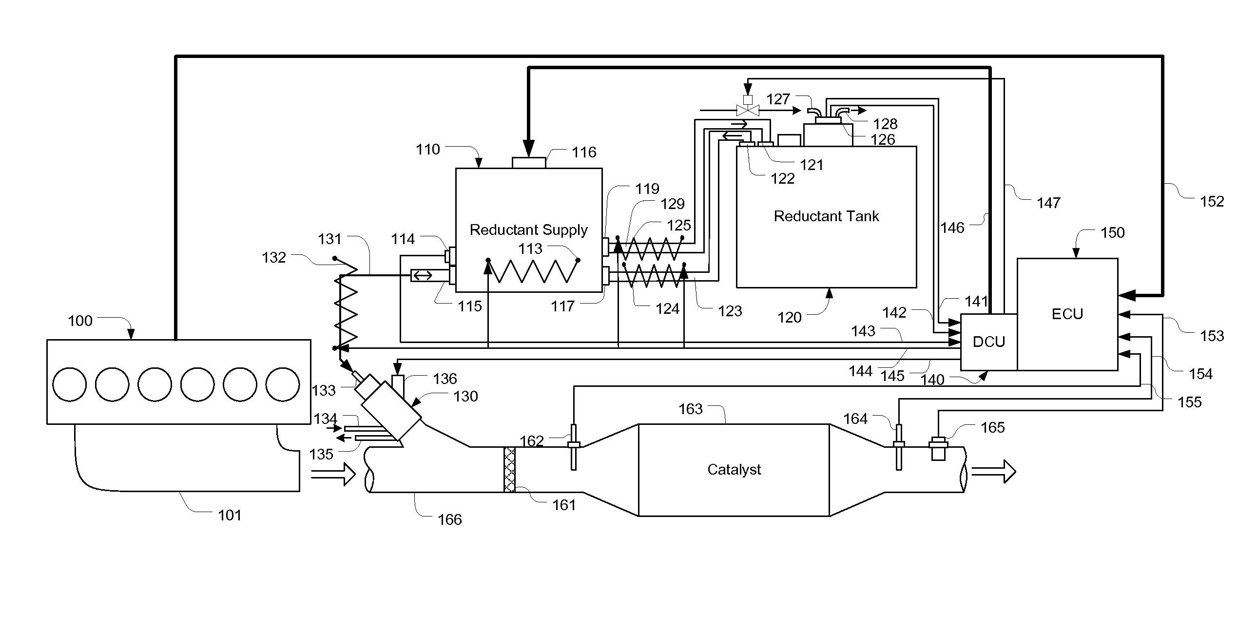 US20130055701 on Coolant Temperature Sensor Location
