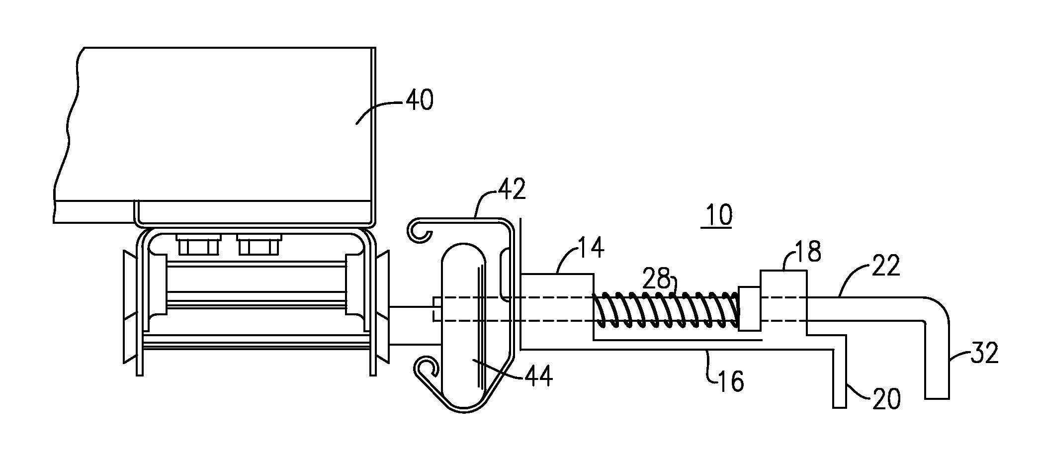 sliding pin lock mechanism for overhead door google patents