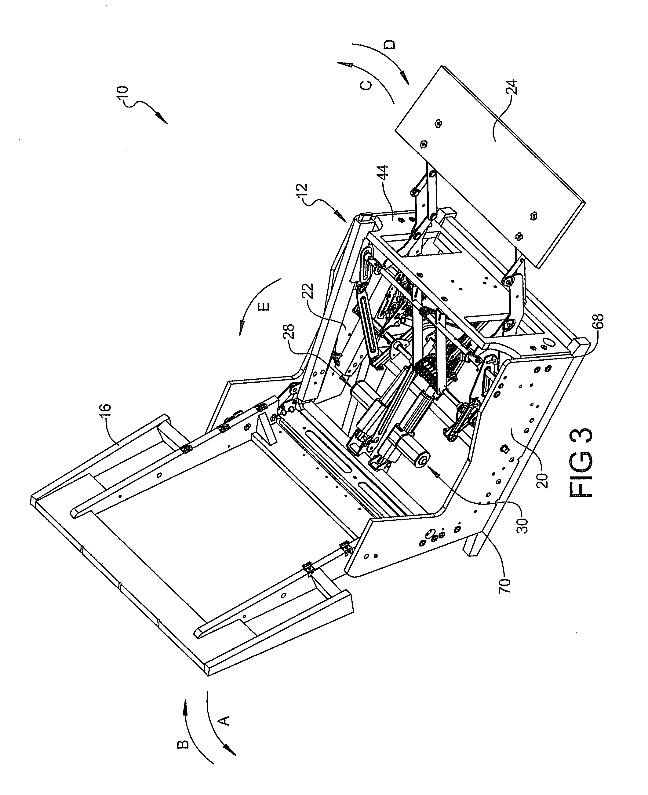 Patent US20130062914 Mechanism and chair for powered combined