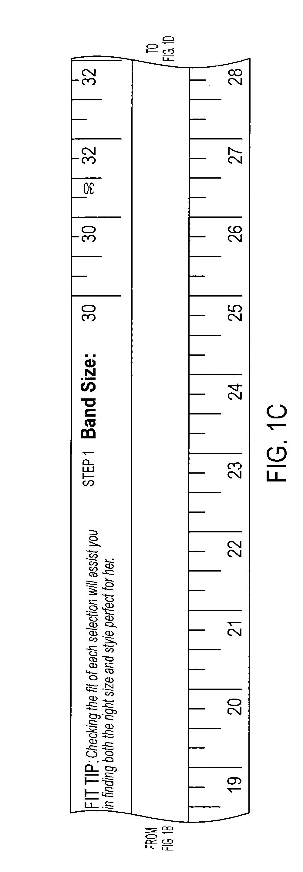 patent us20130074353 bra size measuring tape google patents. Black Bedroom Furniture Sets. Home Design Ideas