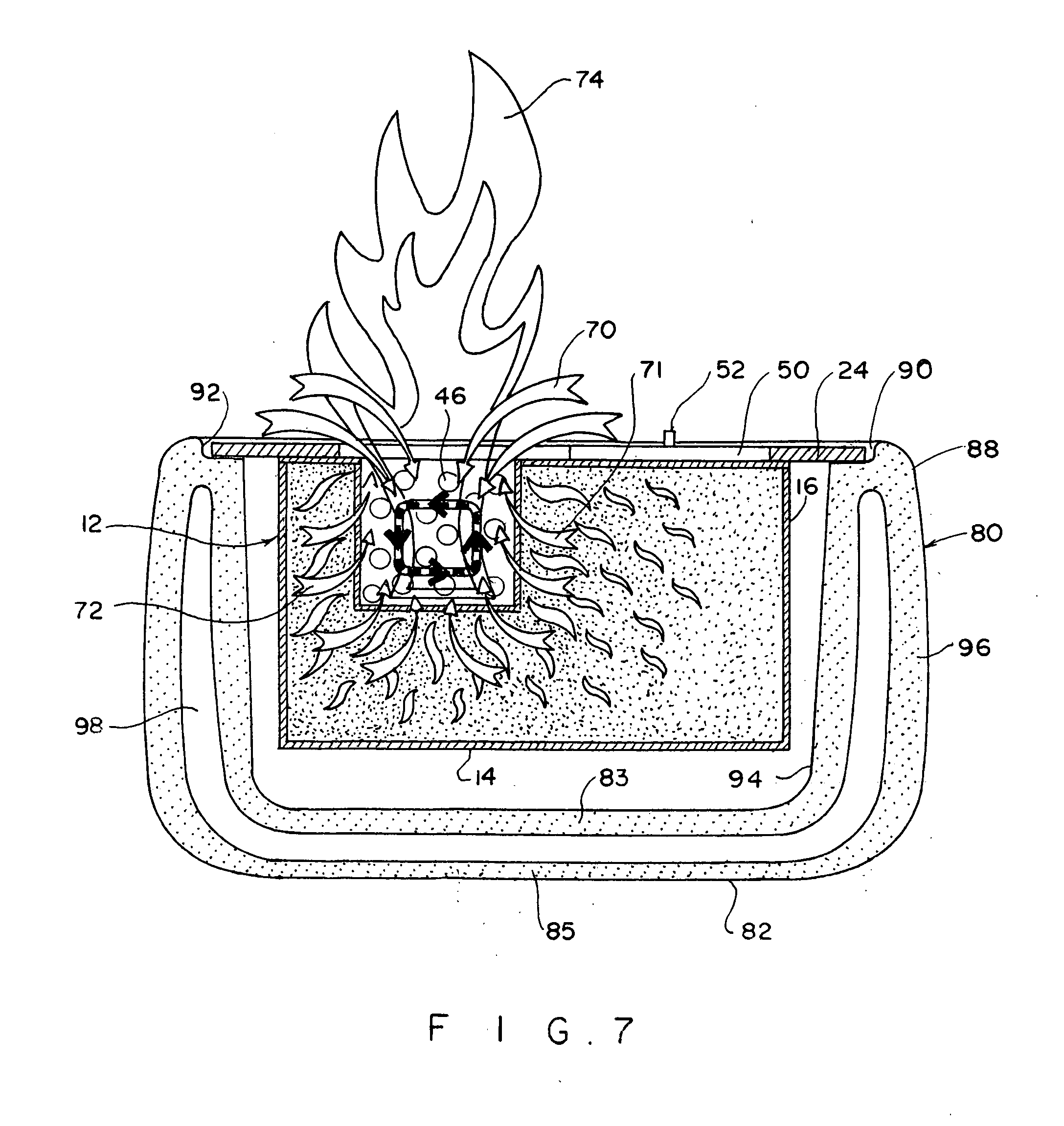 patent us20130084533 spill proof alcohol burner google patents