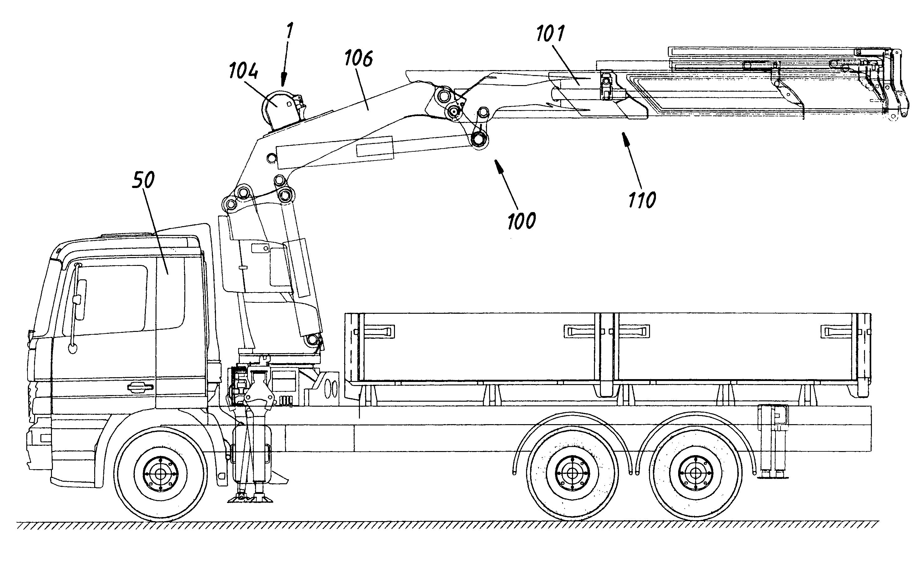 US20130092648A1 20130418 D00000 patent us20130092648 vehicle crane google patents palfinger crane wiring diagram at edmiracle.co
