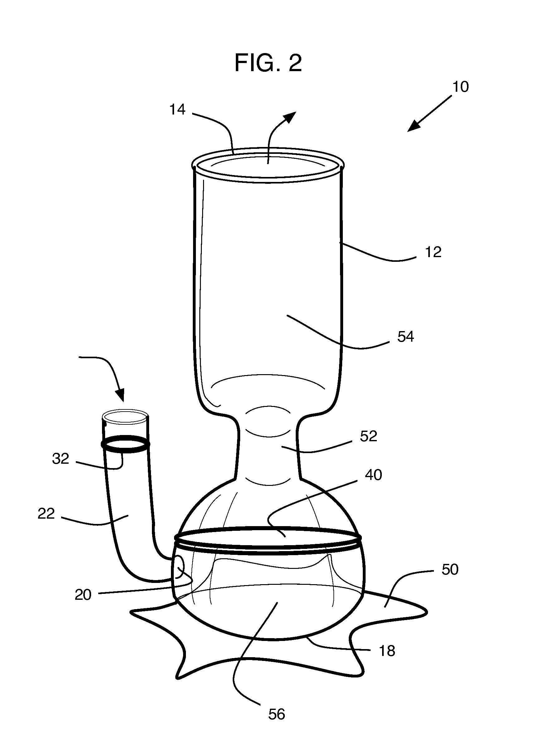 patent us20130104738 - laboratory apparatus