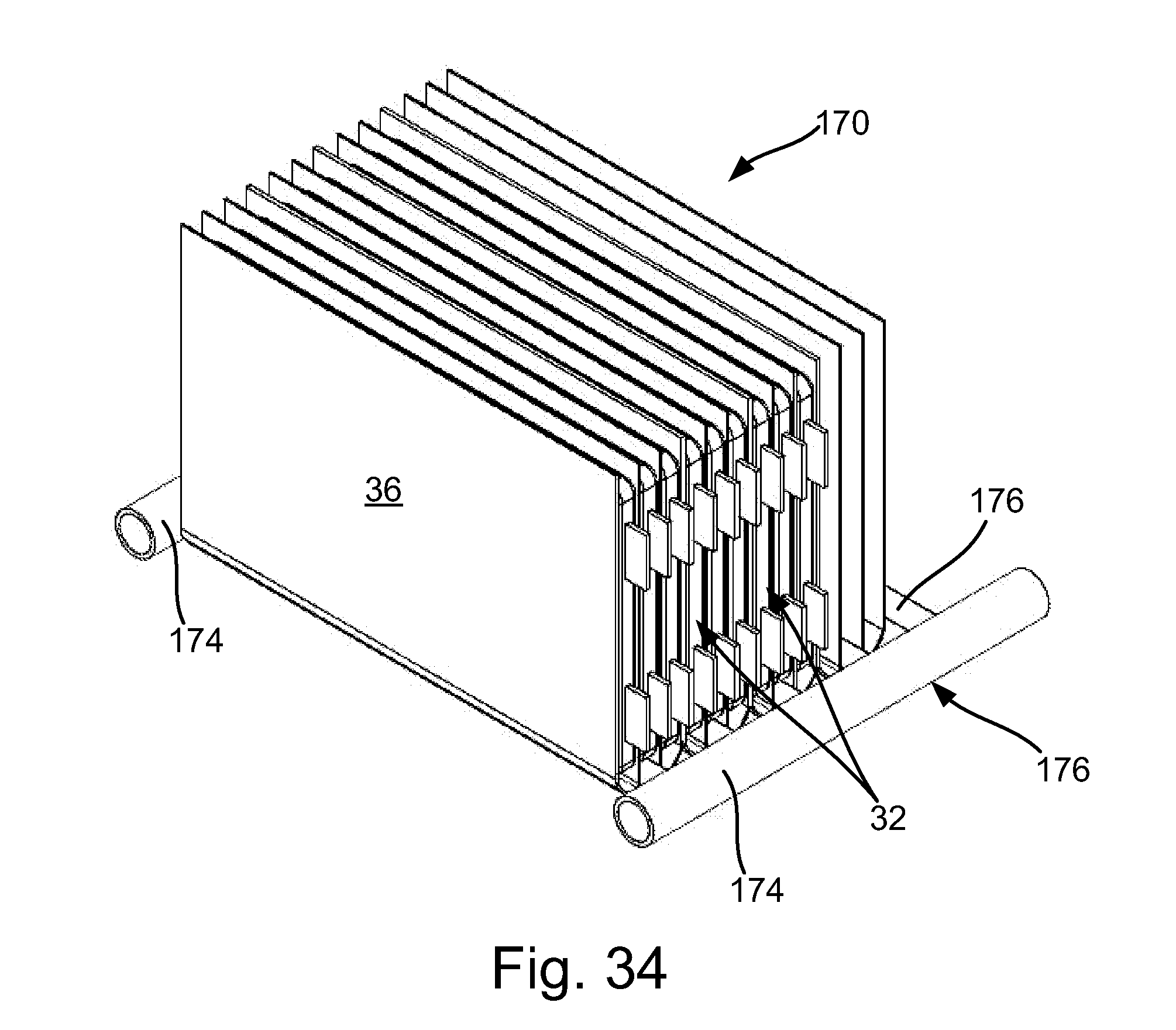 patent us20130115506 - thermal solution for prismatic lithium ion battery pack